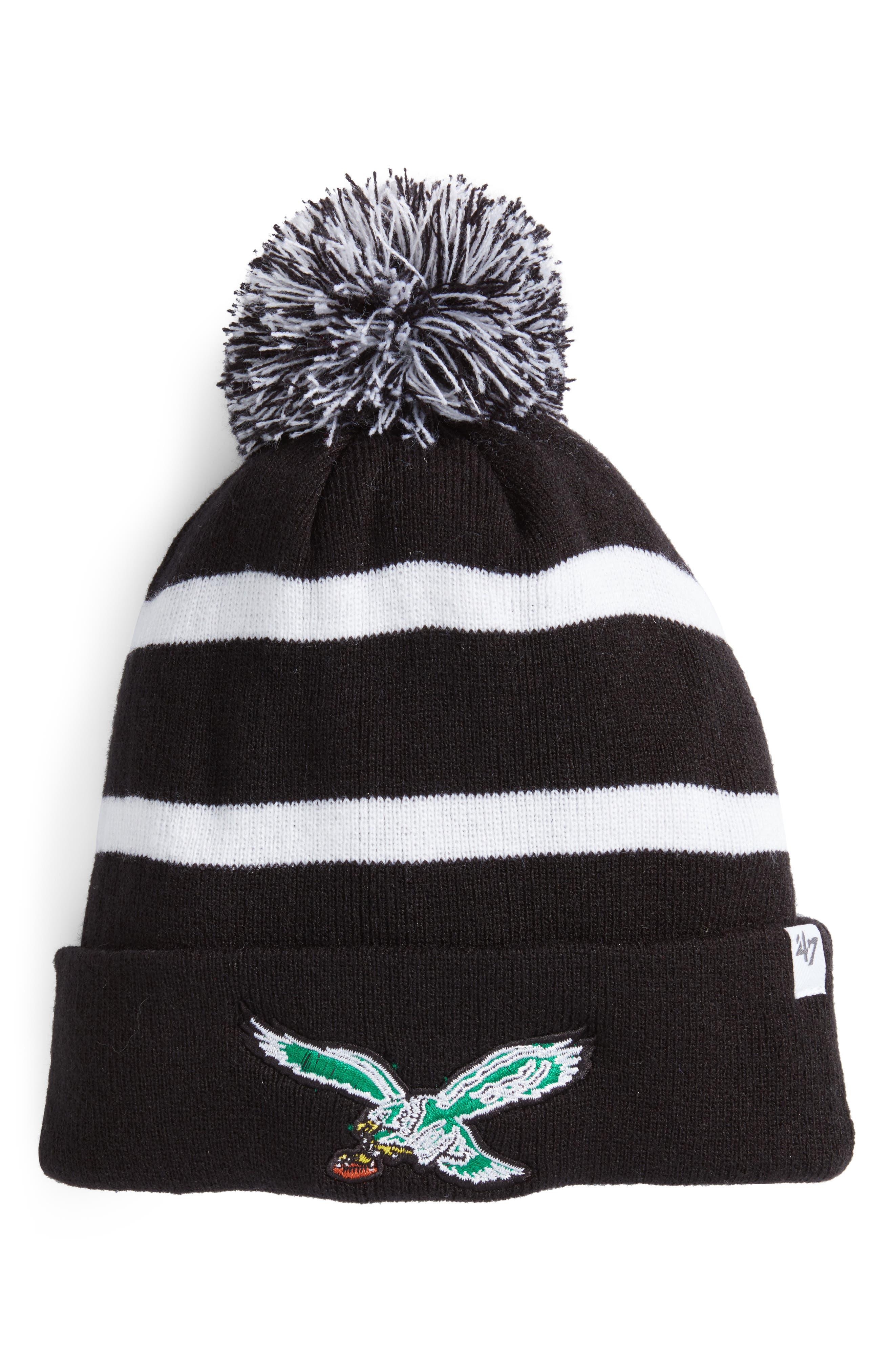 NFL Breakaway Pom Knit Cap,                         Main,                         color, Philadelphia Eagles