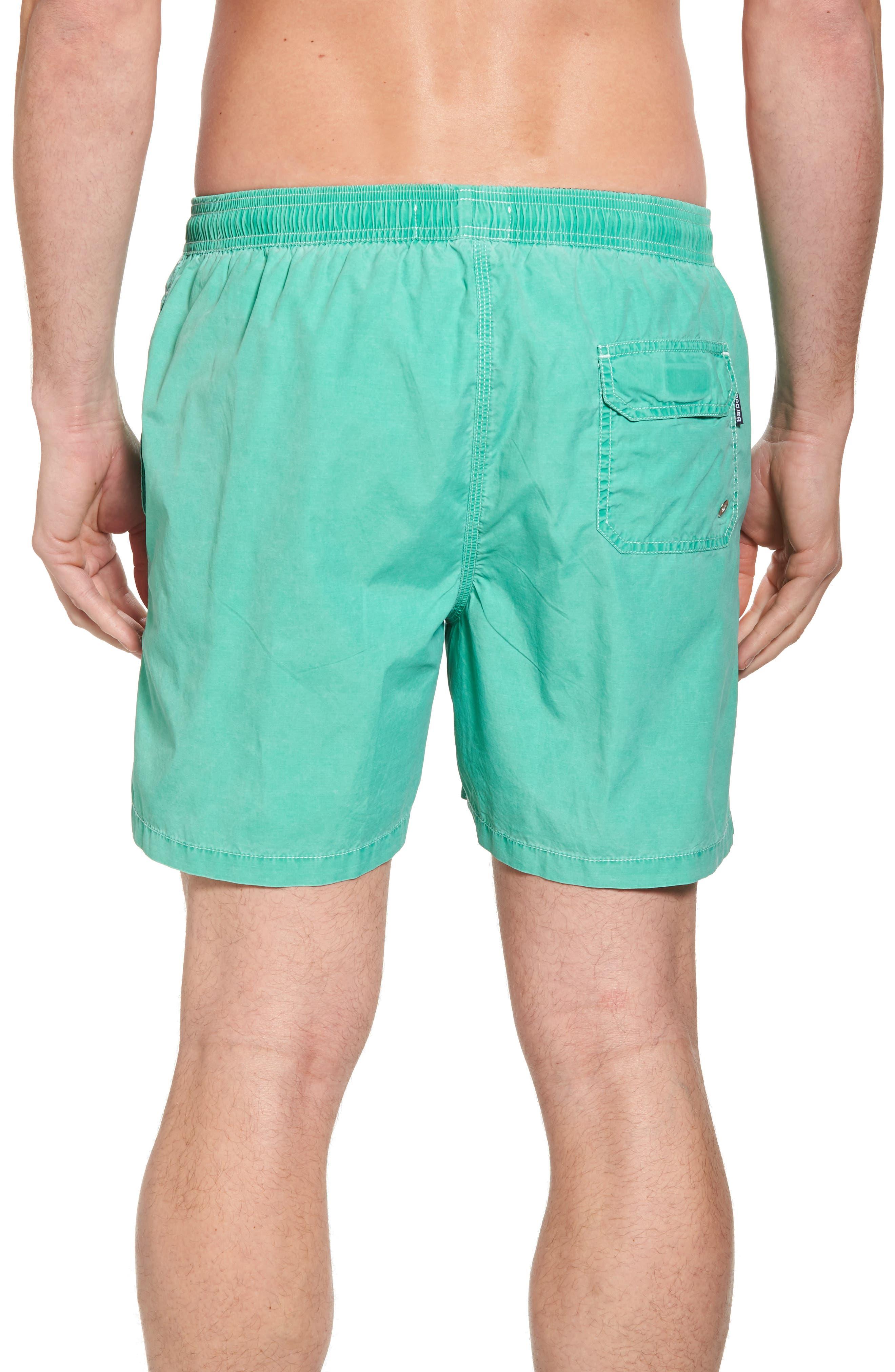 Victor Swim Trunks,                             Alternate thumbnail 2, color,                             Green