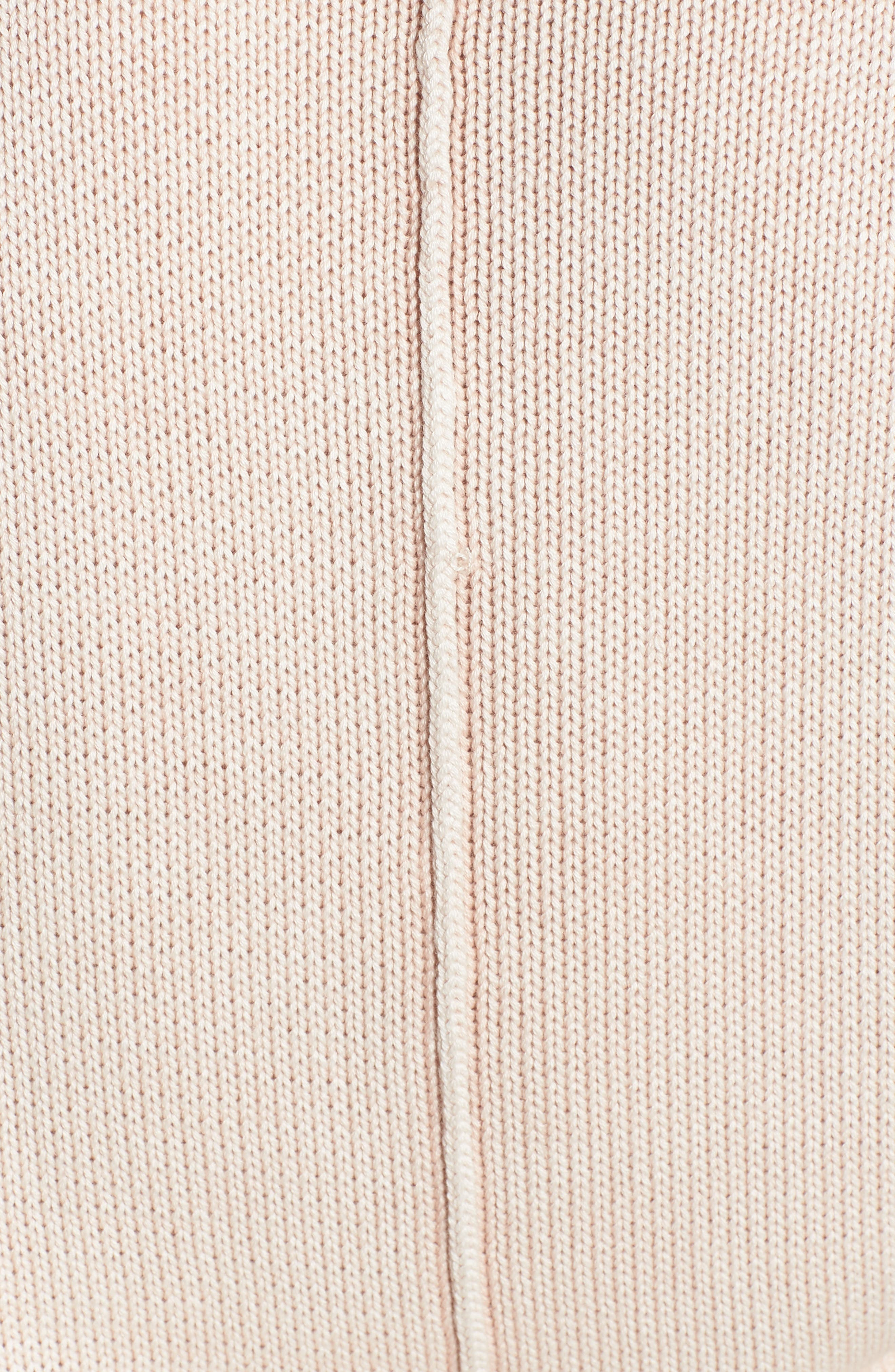 Erin Knit Sweater,                             Alternate thumbnail 5, color,                             Sand Washed Blush