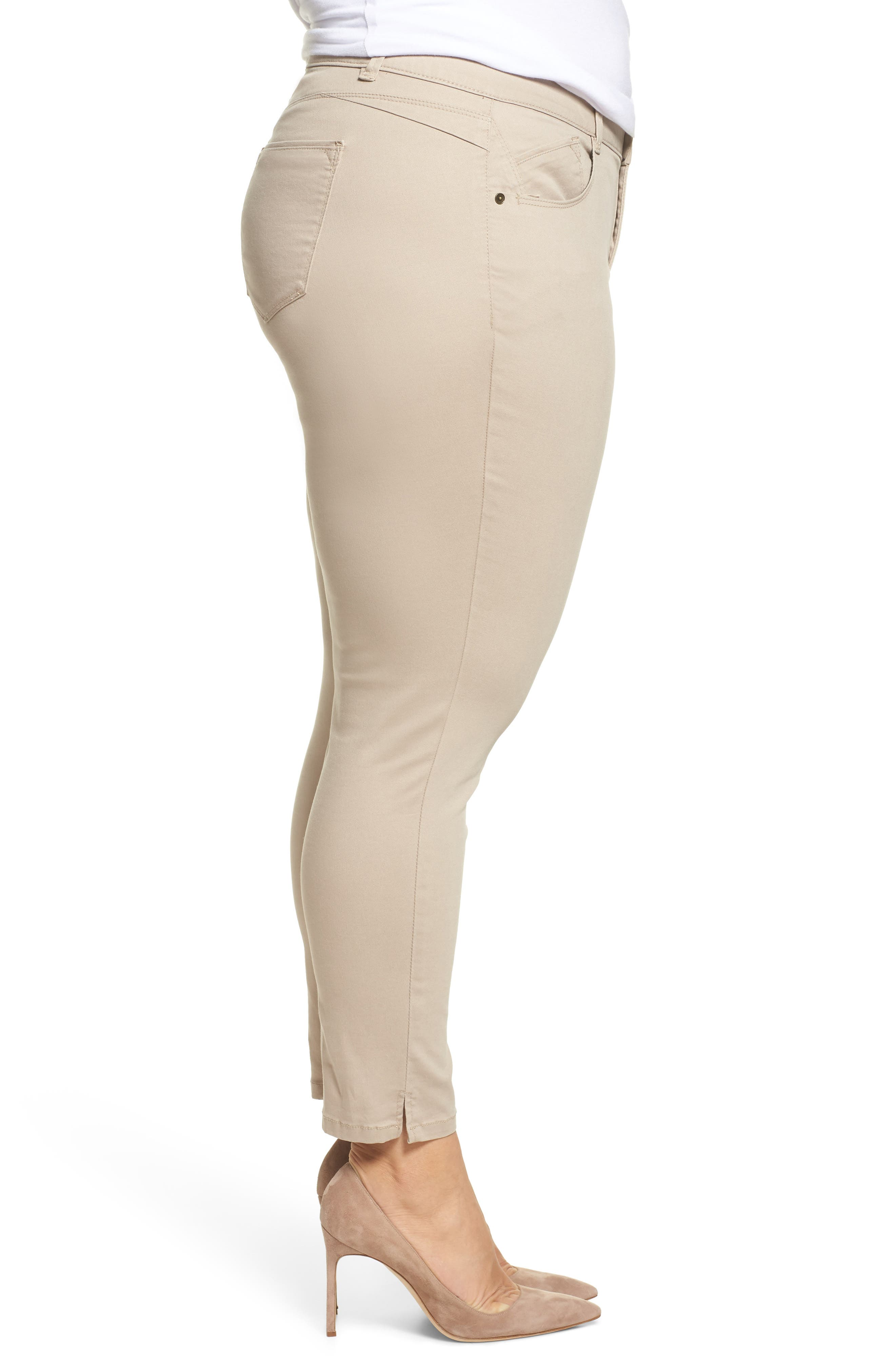 Ab-solution Ankle Pants,                             Alternate thumbnail 3, color,                             Flax
