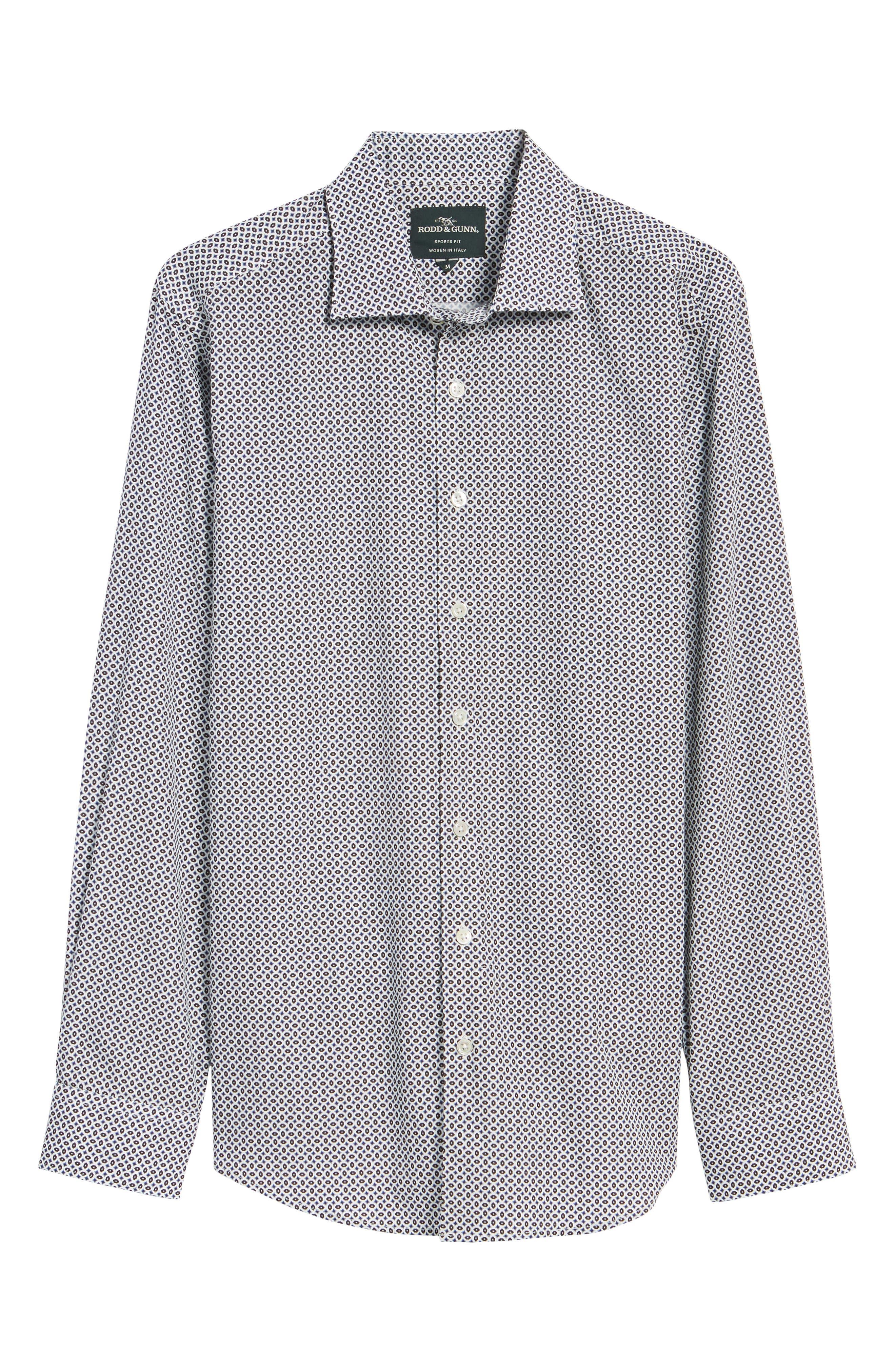 Oak House Regular Fit Sport Shirt,                             Alternate thumbnail 6, color,                             Ivory