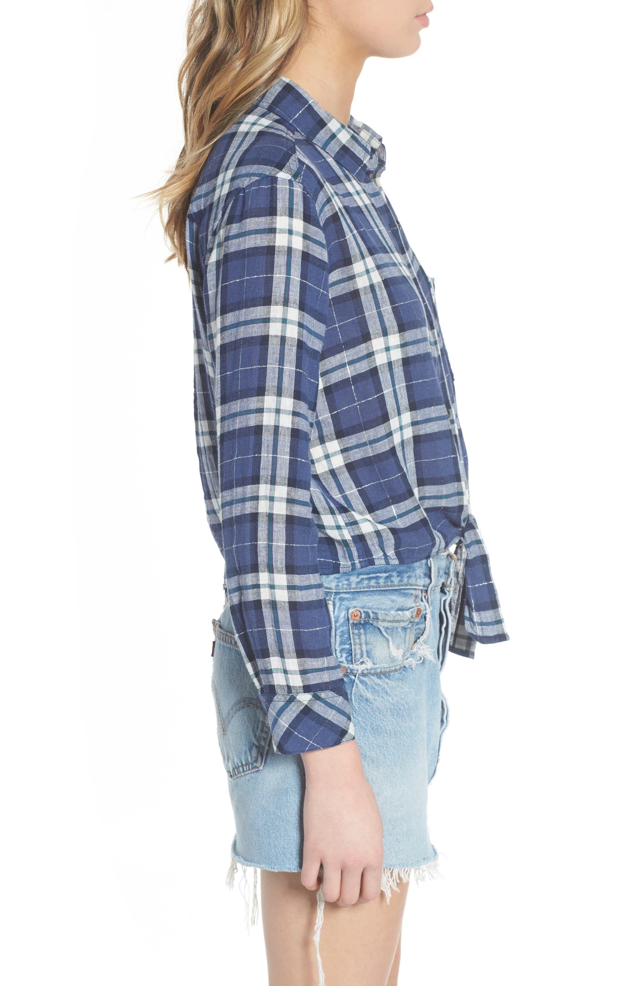 Alternate Image 3  - Rails Val Tie Front Shirt