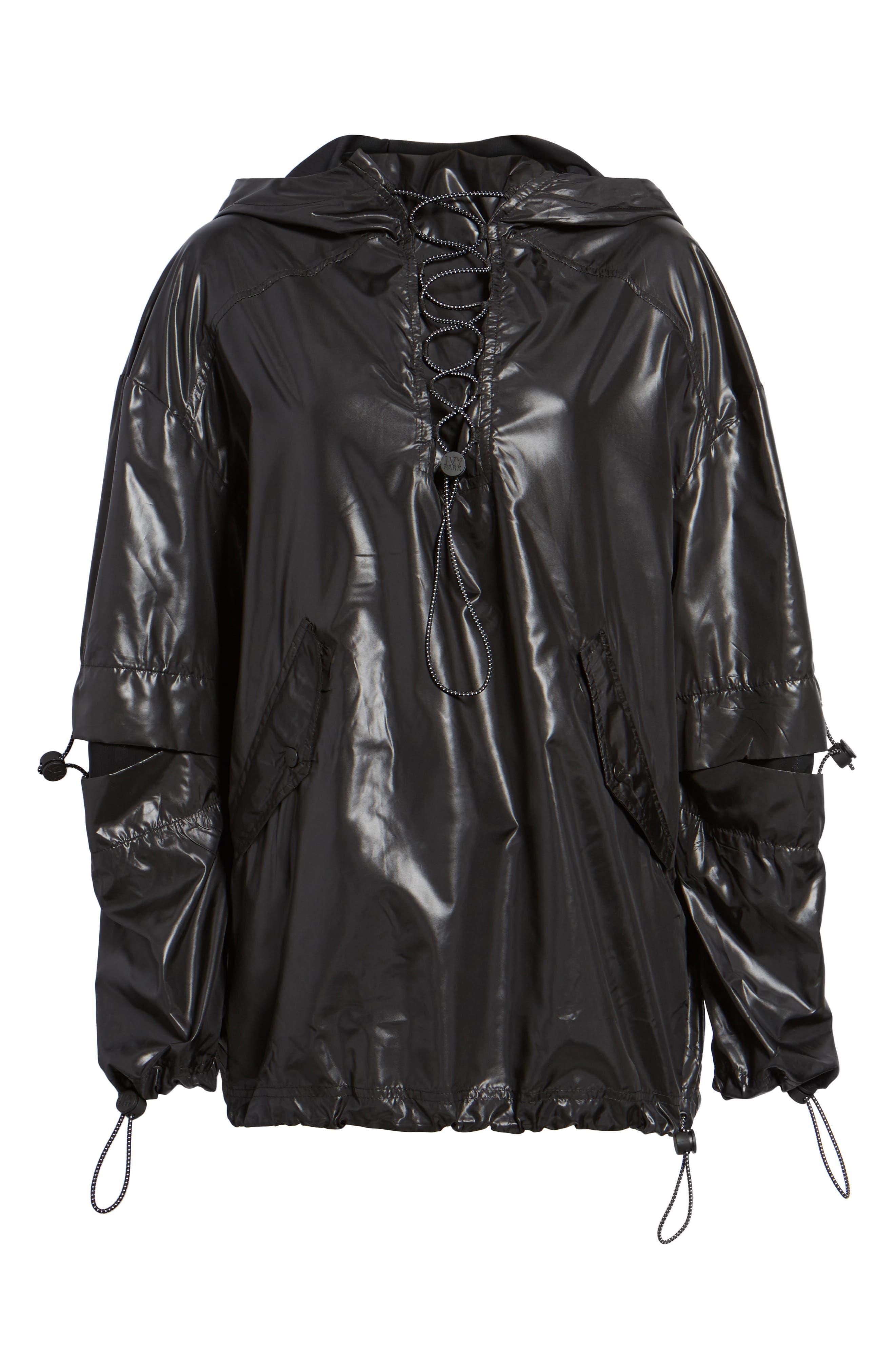 Alternate Image 7  - IVY PARK® Hi Shine Lace-Up Jacket