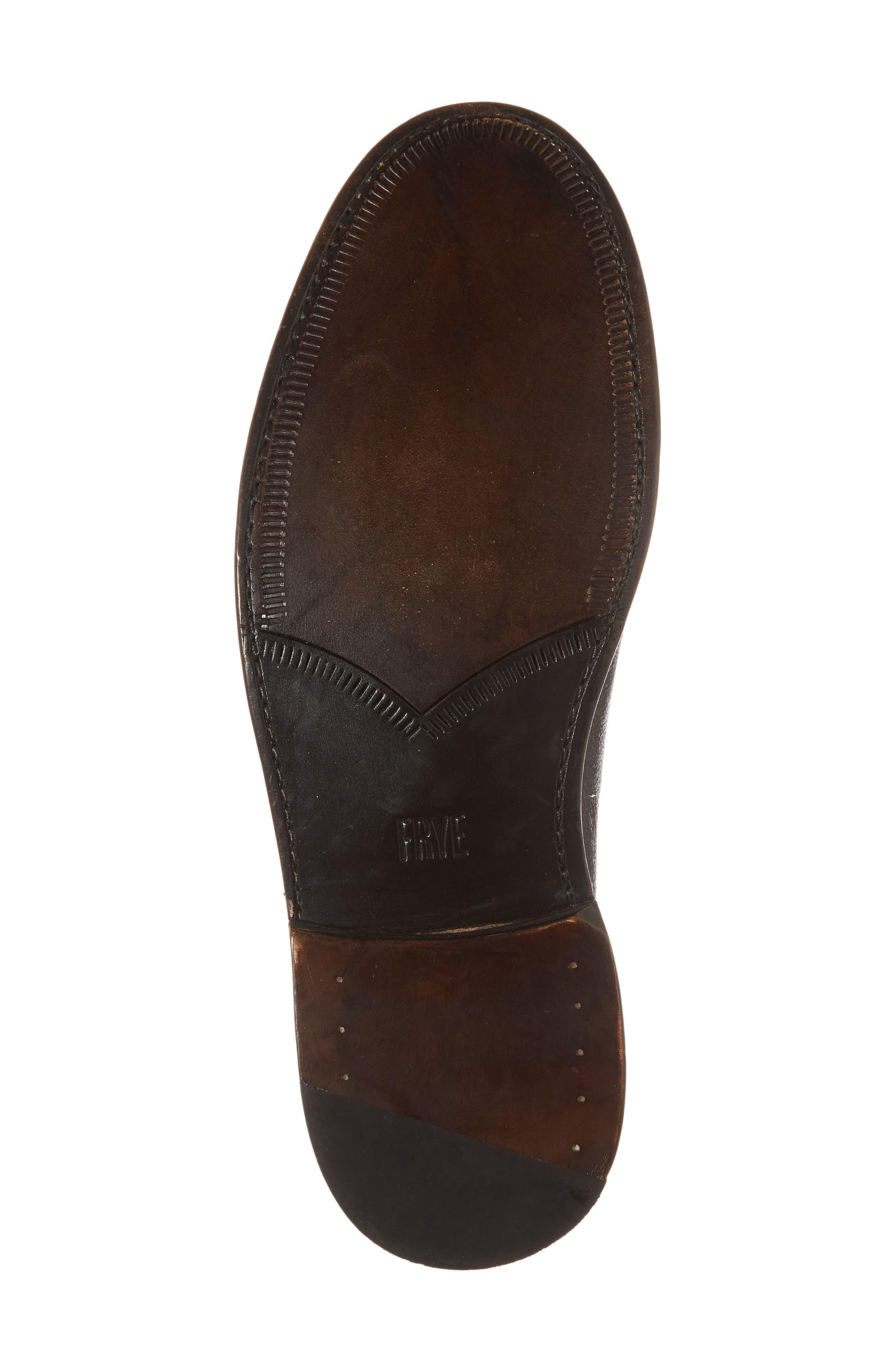 Jones Plain Toe Derby,                             Alternate thumbnail 6, color,                             Dark Brown Leather