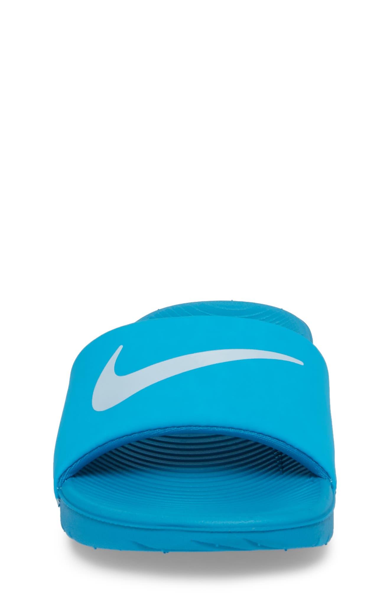 Alternate Image 4  - Nike 'Kawa' Slide Sandal (Toddler, Little Kid & Big Kid)