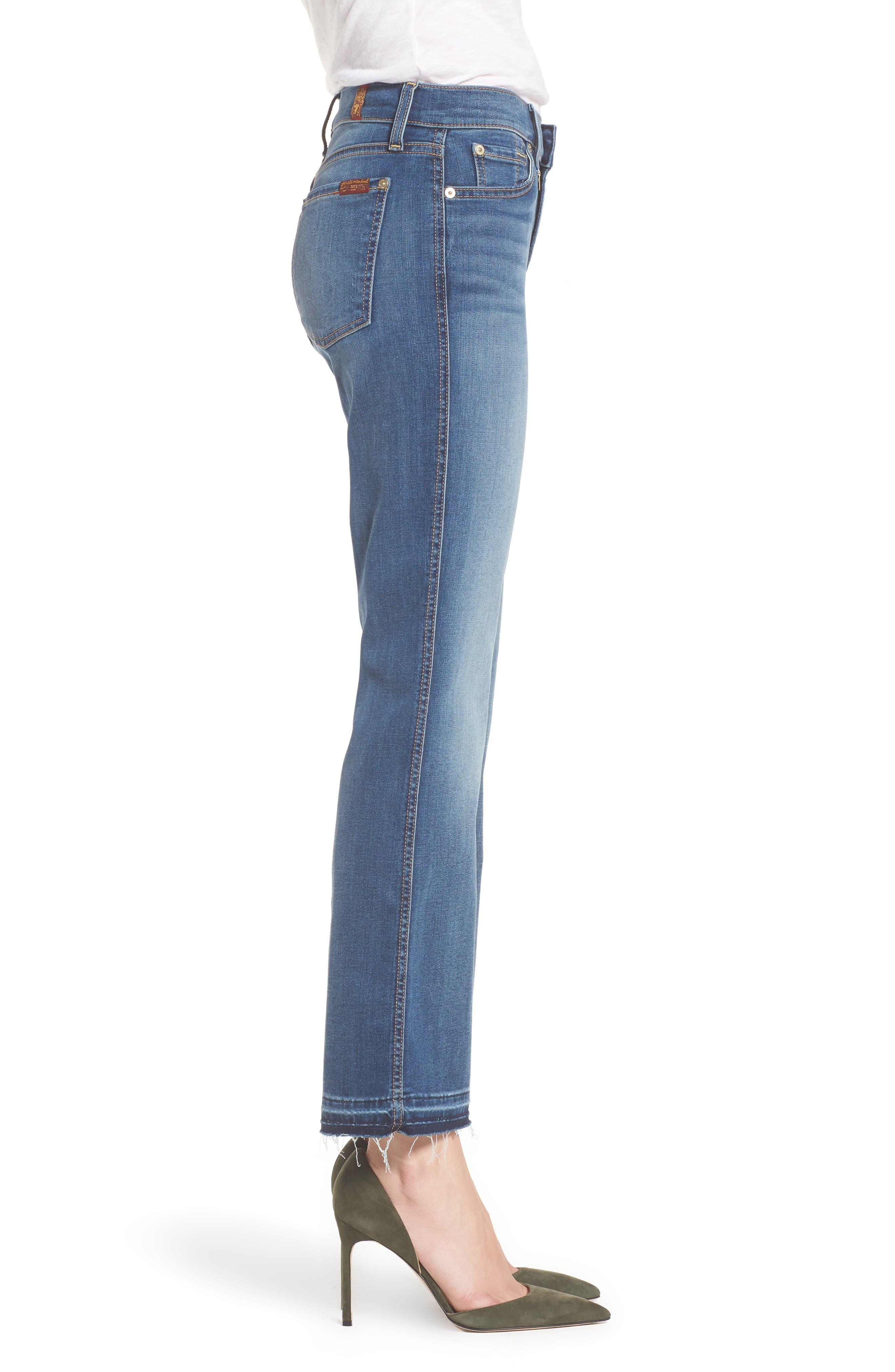 Alternate Image 3  - 7 For All Mankind® b(air) Crop Bootcut Jeans (Vintage Dusk)