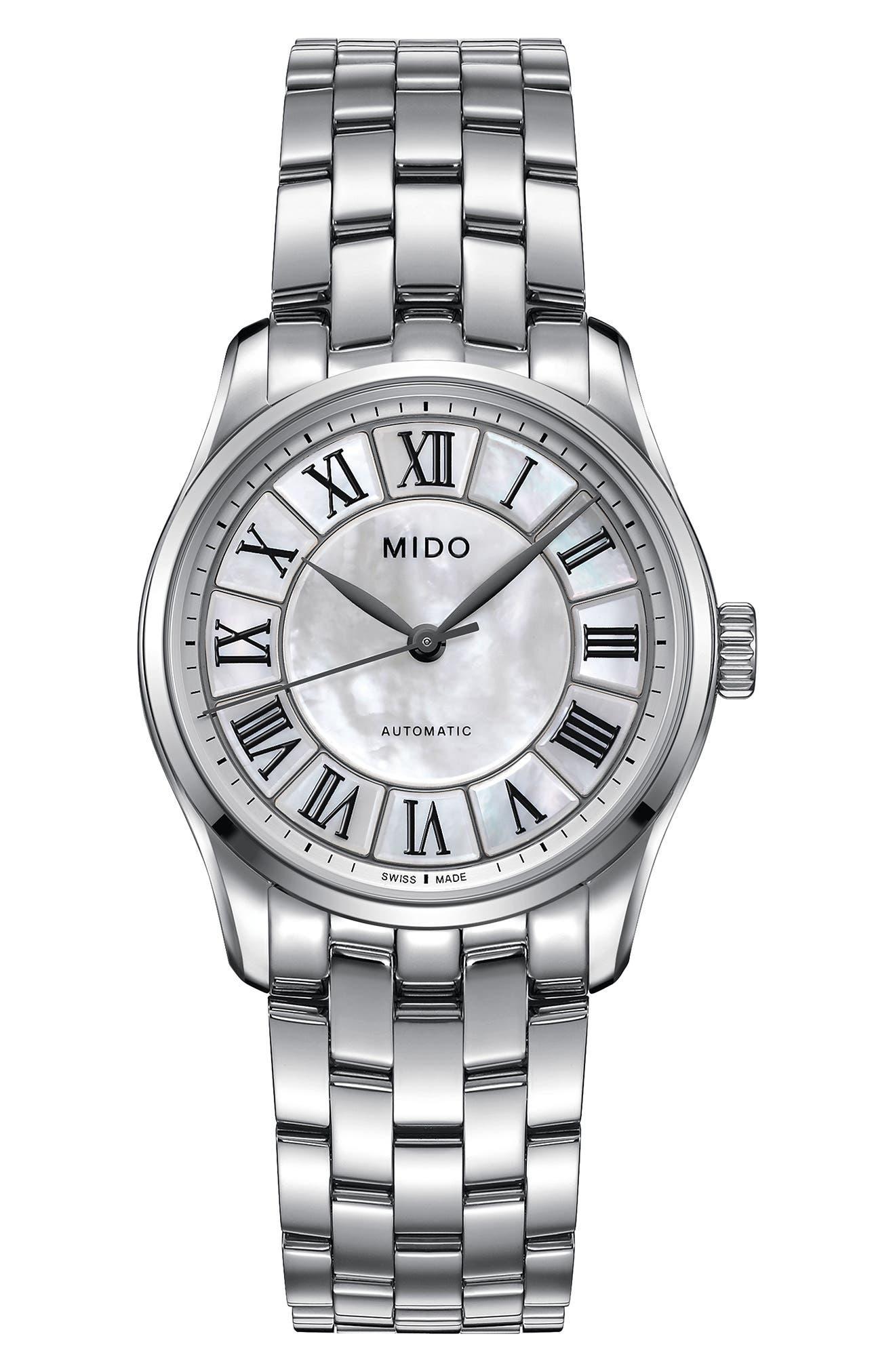 Mido Belluna II Bracelet Watch, 33mm