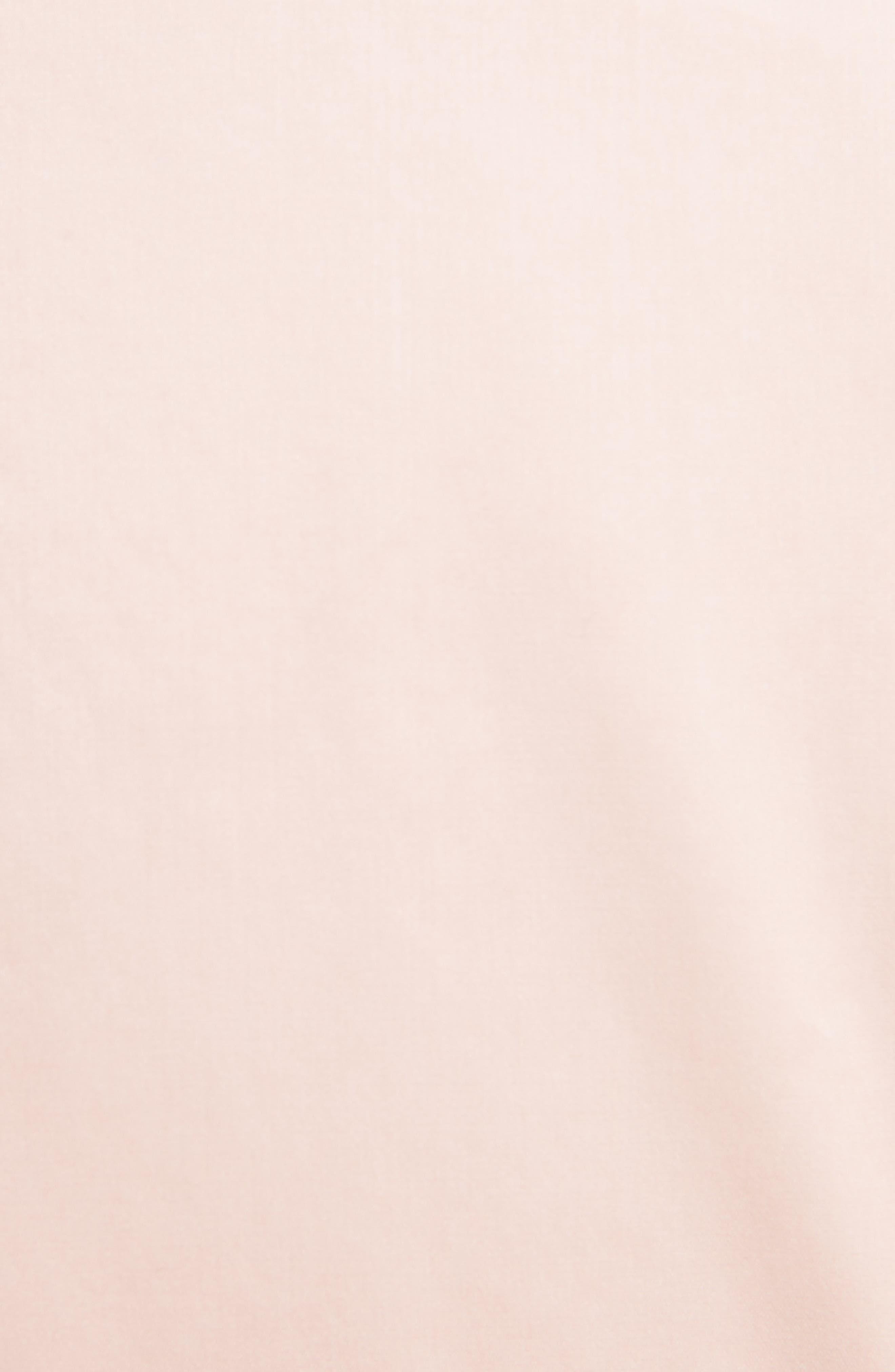 Stretch Silk Organza Sheath Dress,                             Alternate thumbnail 5, color,                             Dusty Pink