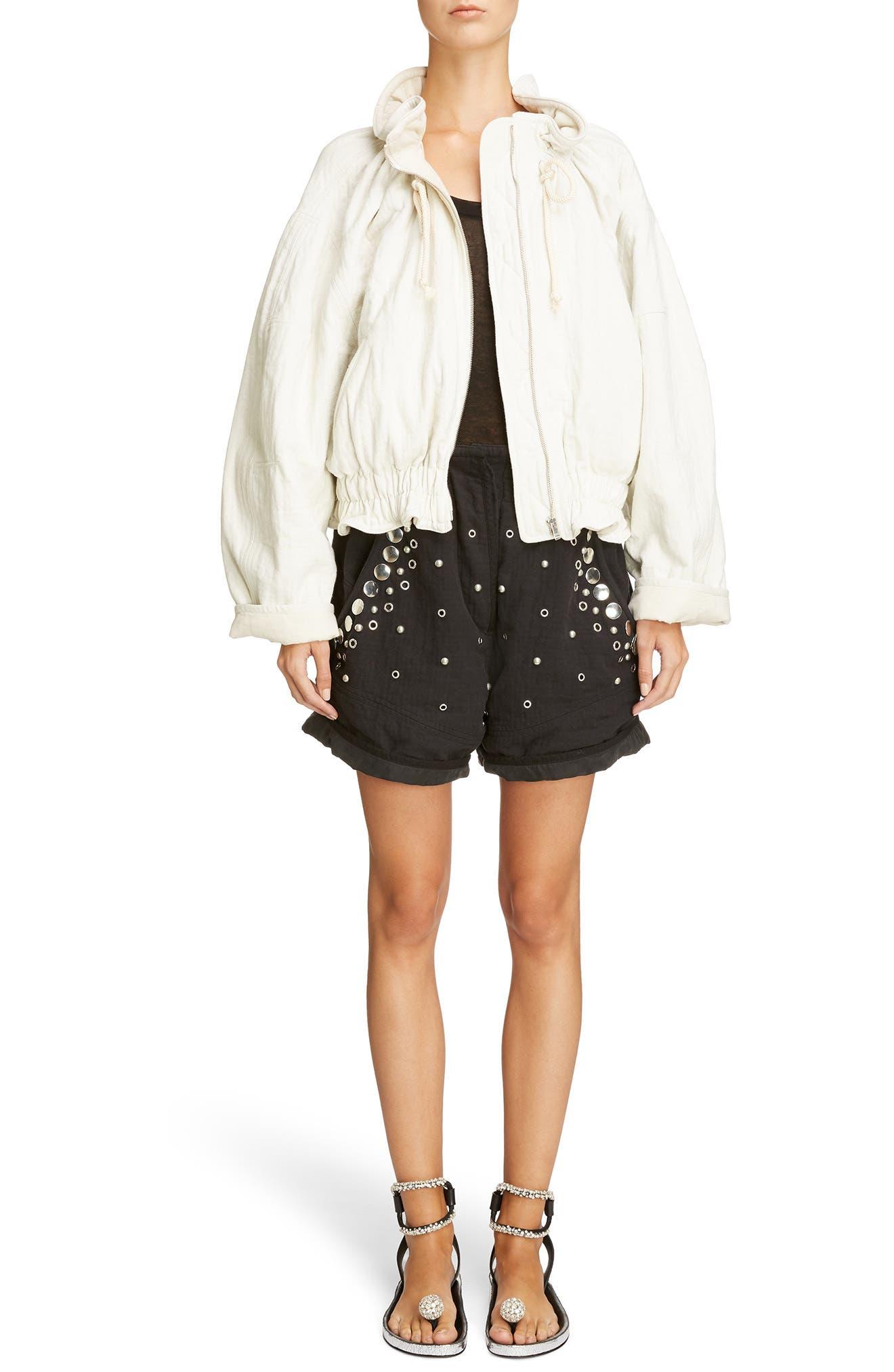 Alternate Image 2  - Isabel Marant Grommet & Stud Shorts