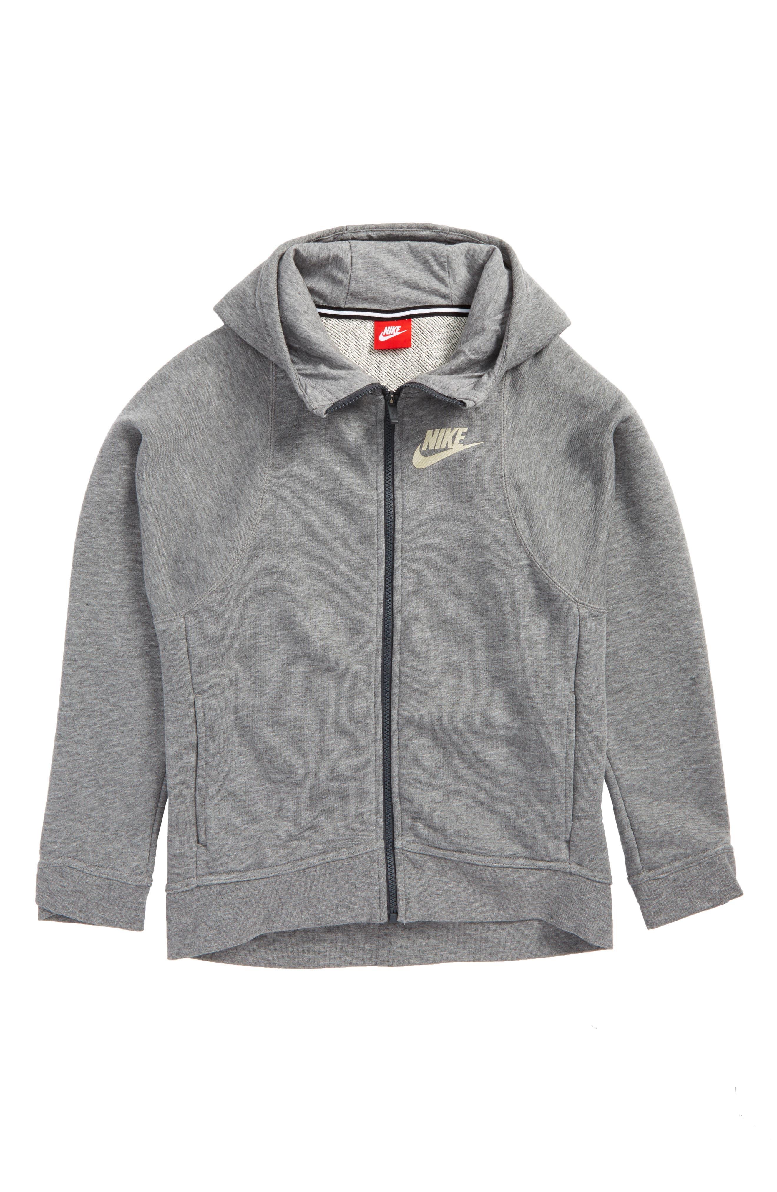 Nike Modern Full Zip Hoodie (Big Girls)