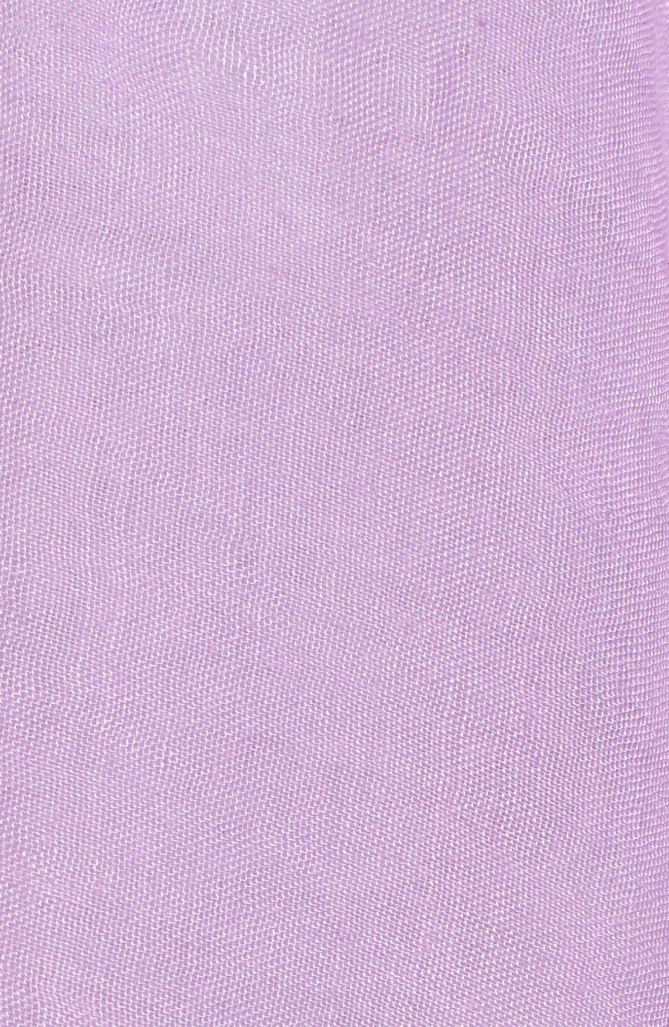 Alternate Image 5  - Caslon® Lace Trim Ruana