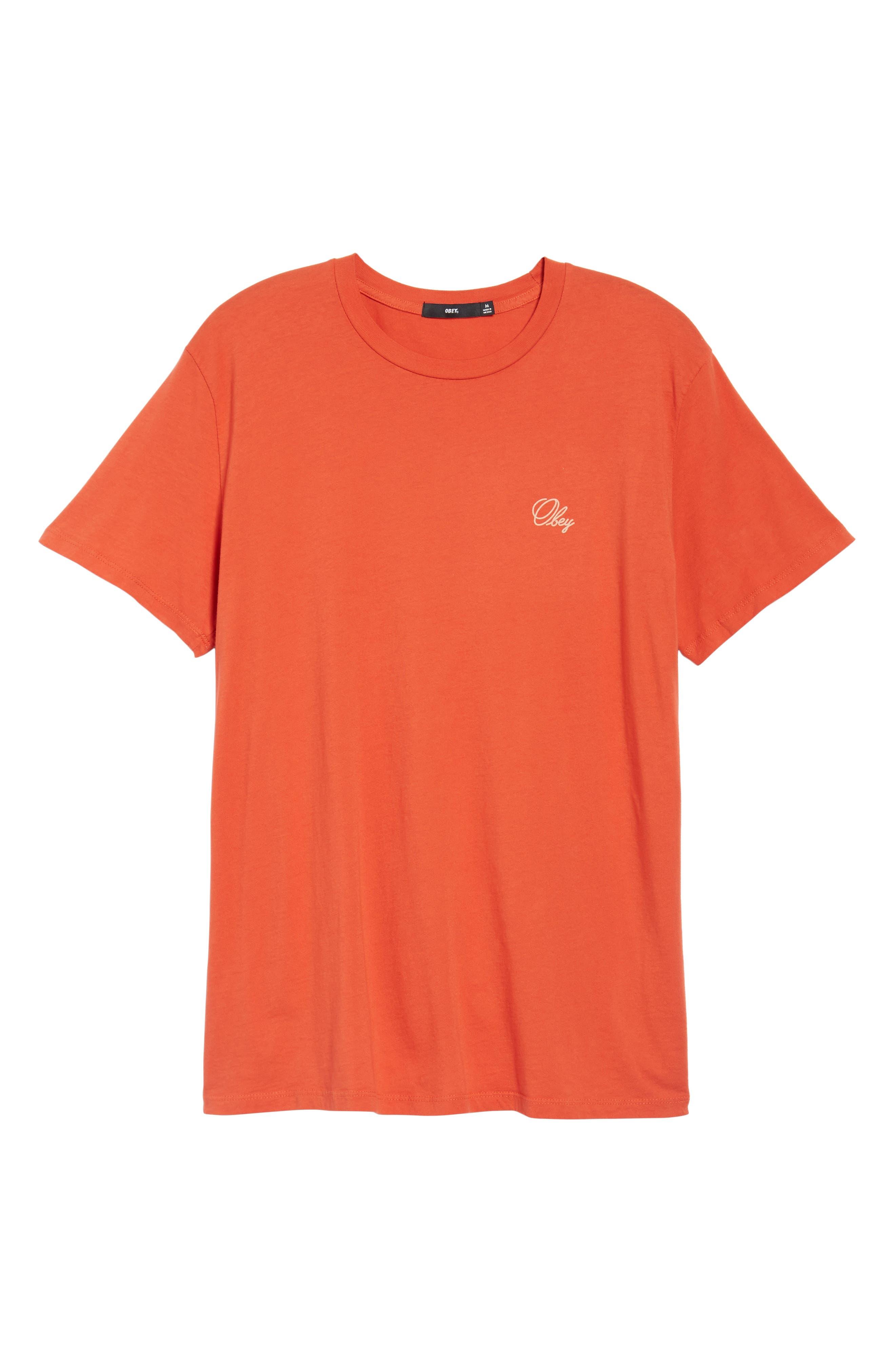 Alternate Image 6  - Obey Old Script Superior T-Shirt