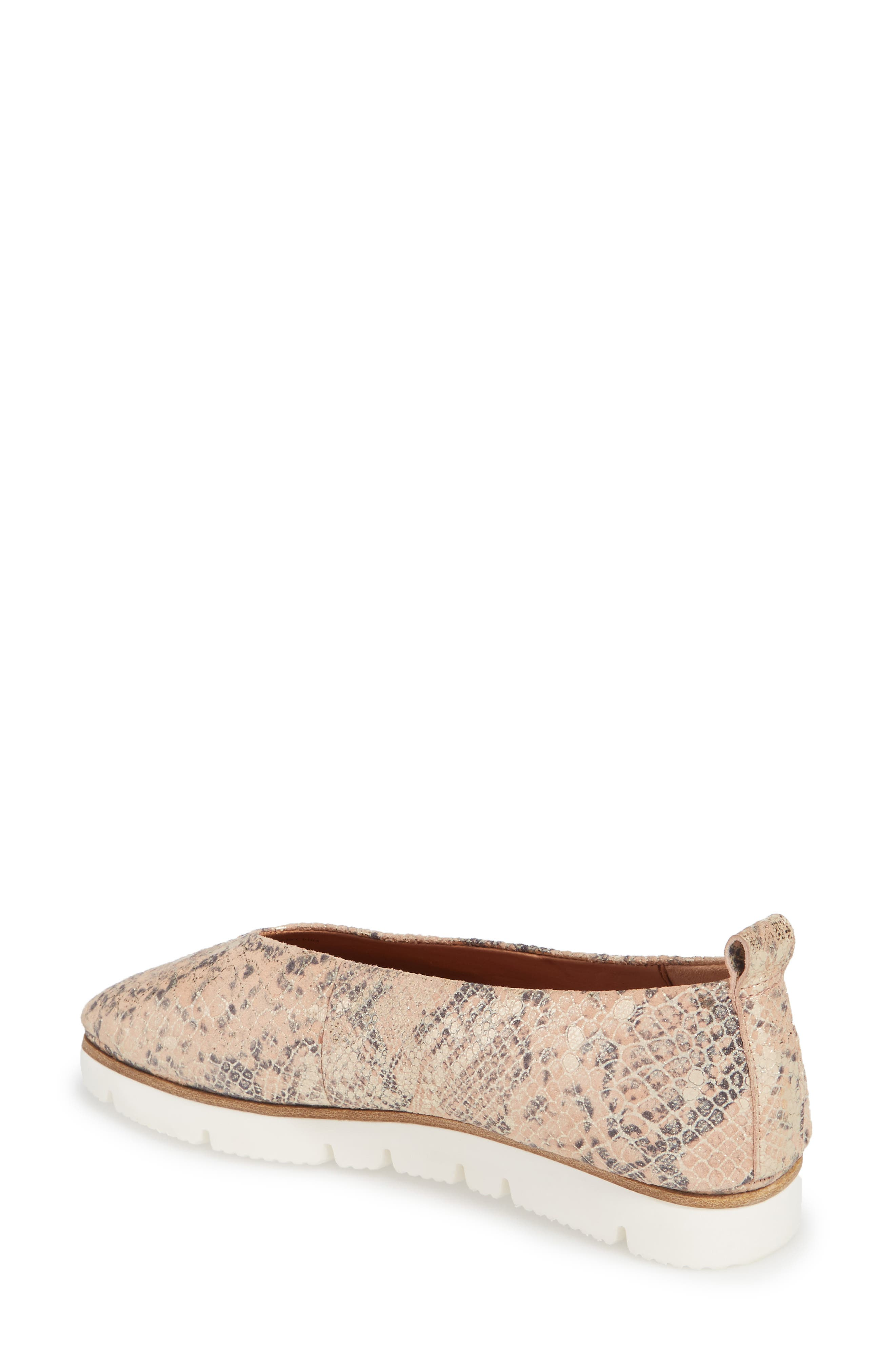 by Kenneth Cole Demi Flat,                             Alternate thumbnail 2, color,                             Rose Metallic Leather