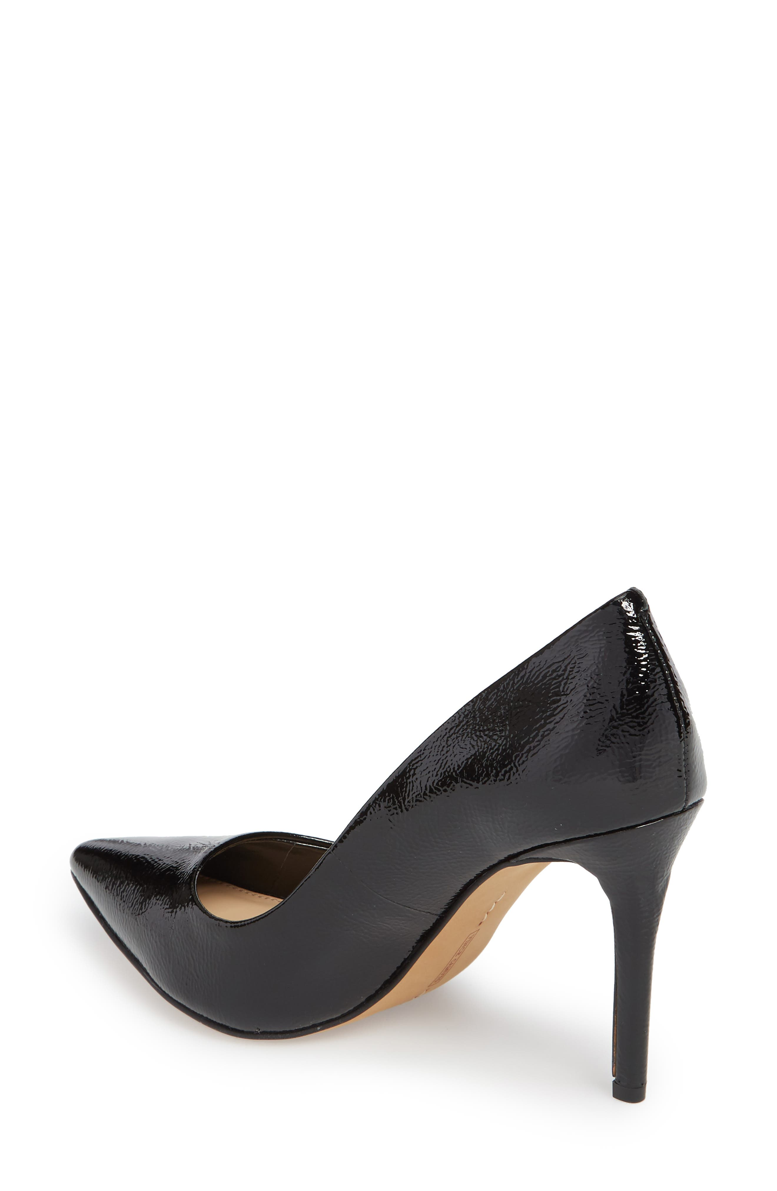 Savilla Pump,                             Alternate thumbnail 2, color,                             Black Patent