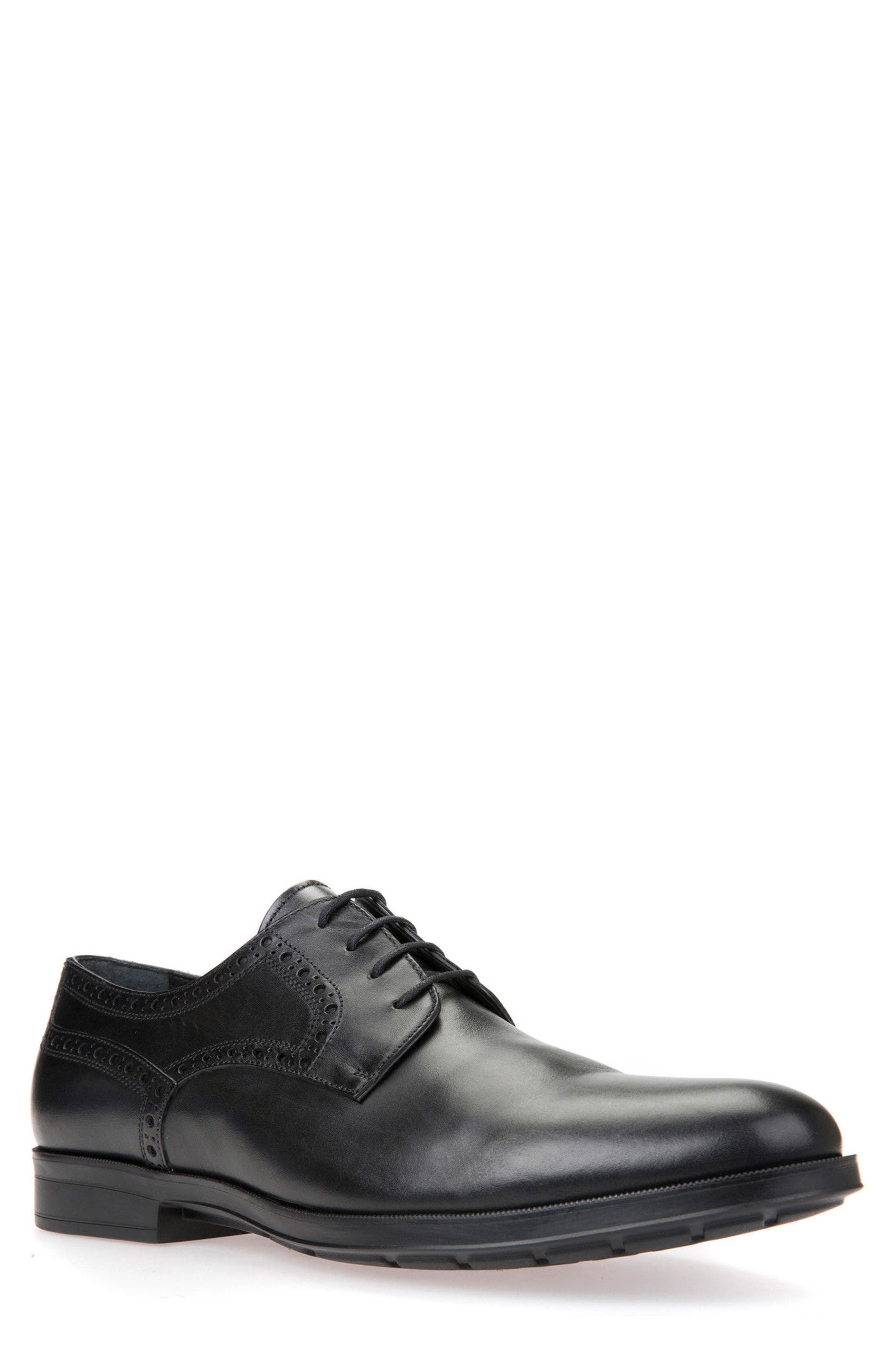 Geox Hilstone 3 Plain Toe Derby (Men)