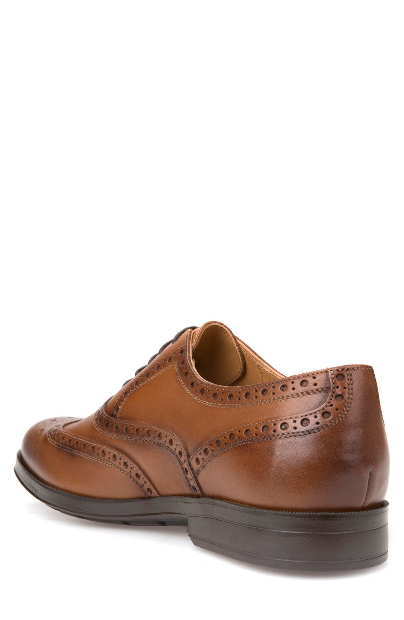 Hilstone 2Fit 2 Wingtip Oxford,                             Alternate thumbnail 2, color,                             Cognac Leather