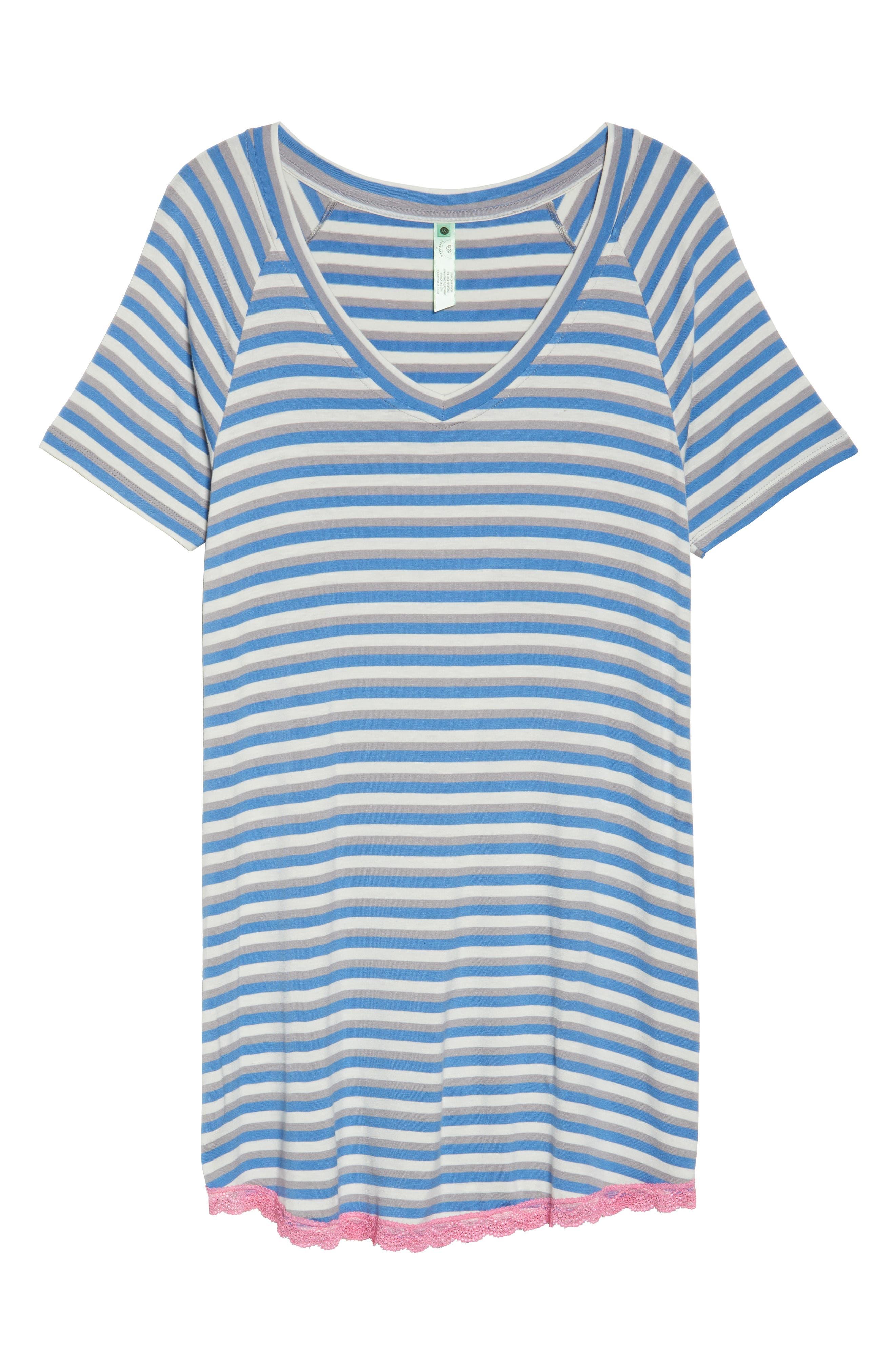 Alternate Image 4  - Honeydew Lace Trim Sleep Shirt (2 for $60)