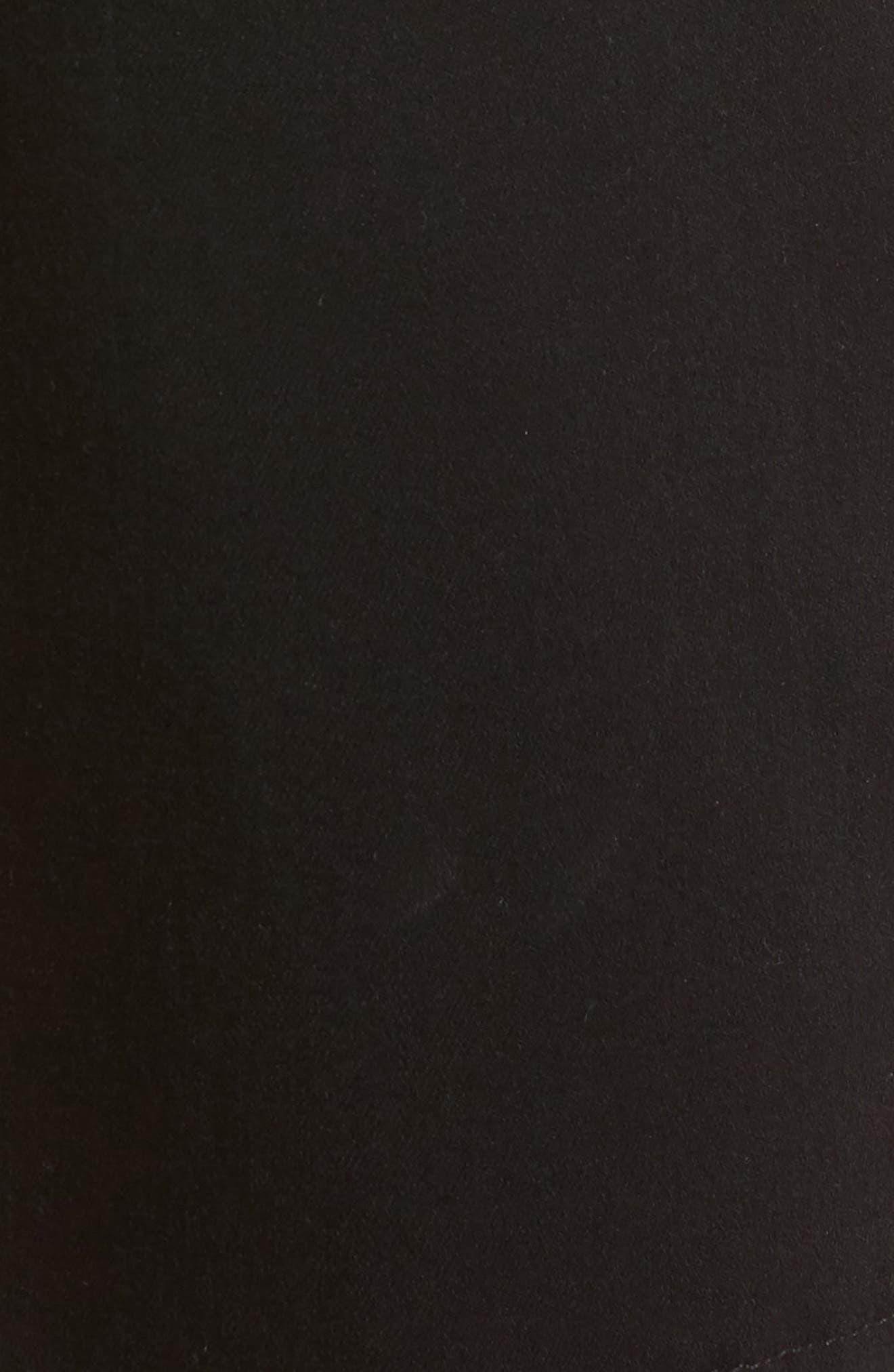 Alternate Image 5  - PAIGE Transcend - Federal Slim Straight Leg Denim Shorts (Black Shadow)