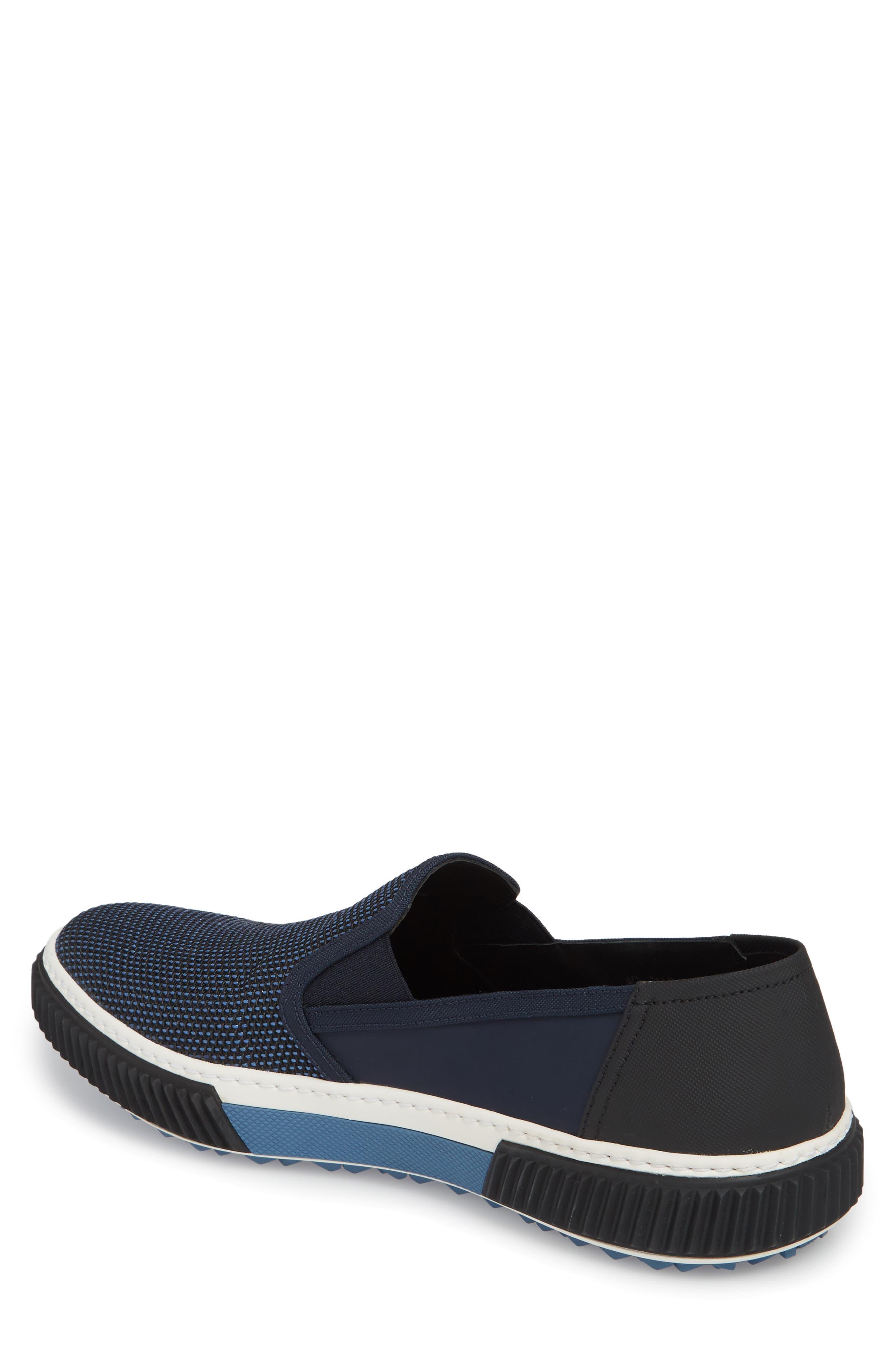 Linea Rossa Skate Slip-On,                             Alternate thumbnail 2, color,                             Baltic Blue