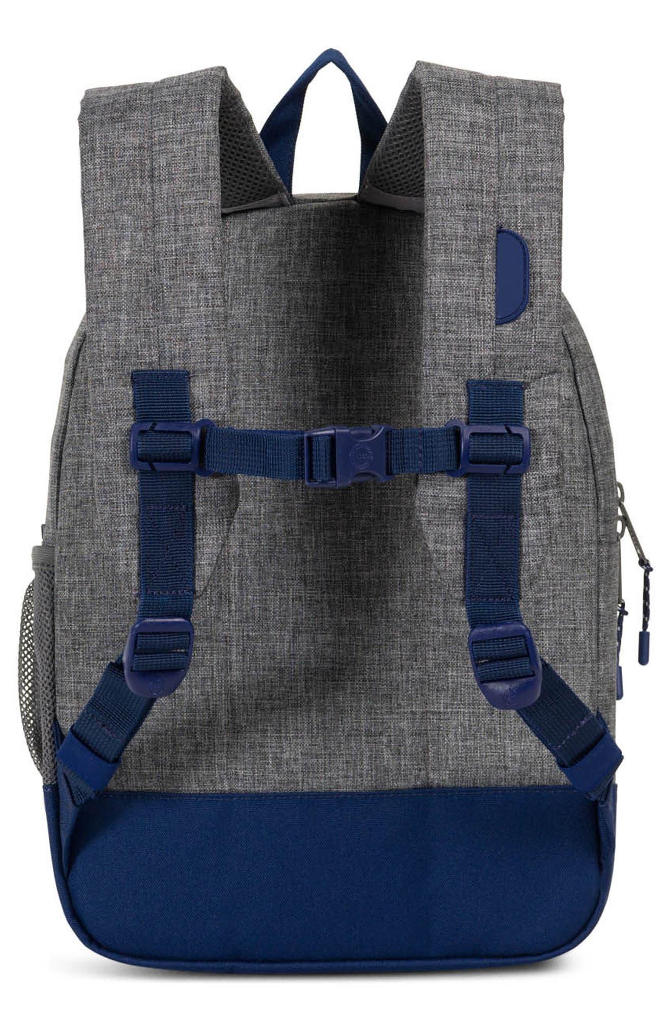 Heritage Backpack,                             Alternate thumbnail 4, color,                             Raven/ Black