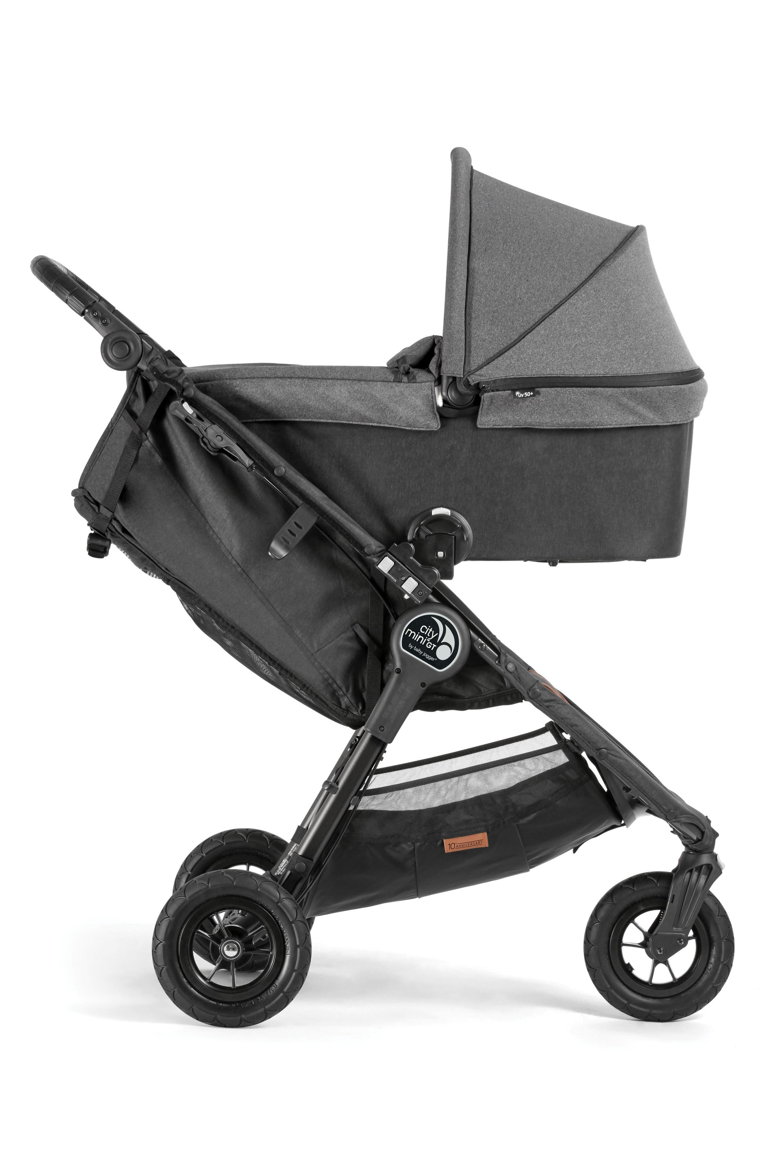 Deluxe Pram Converter Kit for City Mini<sup>®</sup> 2018 Special Edition 10-Year Anniversary All-Terrain Stroller,                             Alternate thumbnail 3, color,                             Grey