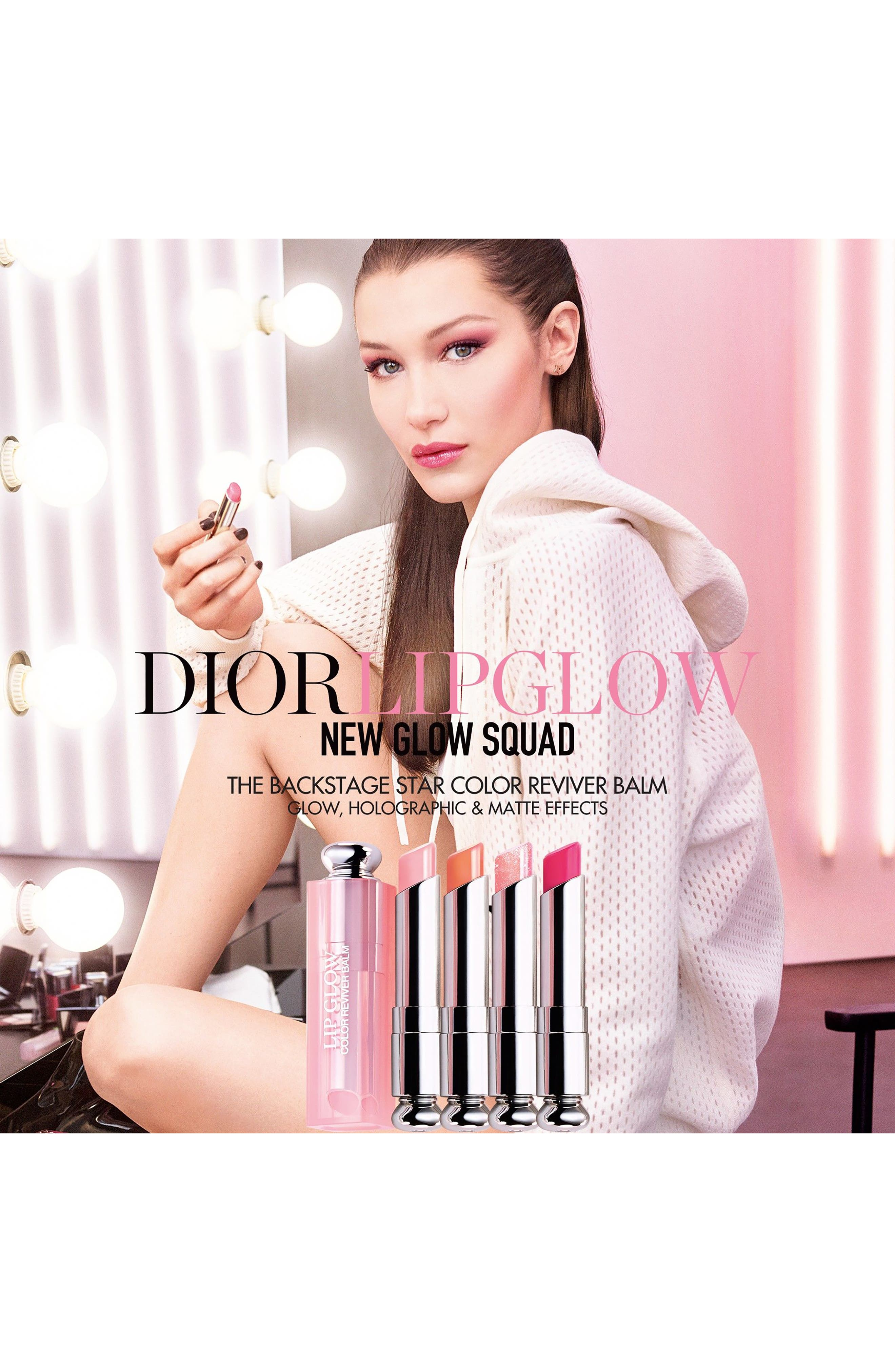Alternate Image 2  - Dior Addict Lip Glow Color Reviving Lip Balm