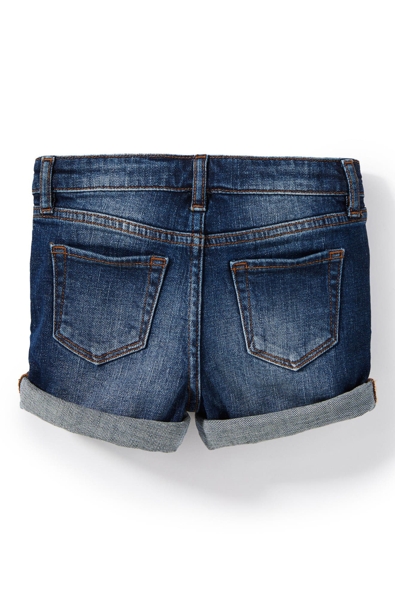 Griffin Roll Cuff Shorts,                             Alternate thumbnail 2, color,                             Dark Authentic