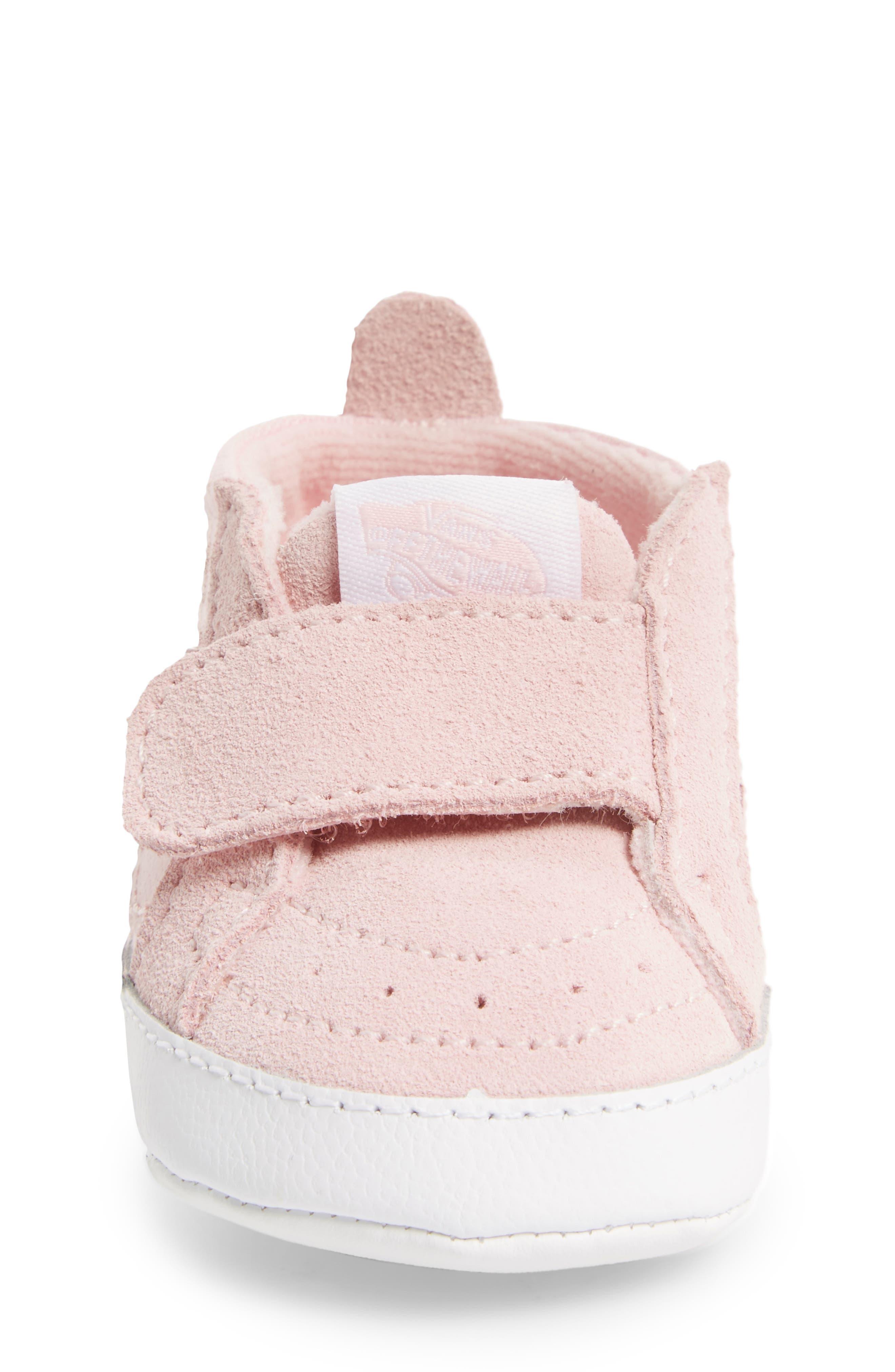 Alternate Image 4  - Vans SK8-Hi Crib Sneaker (Baby)