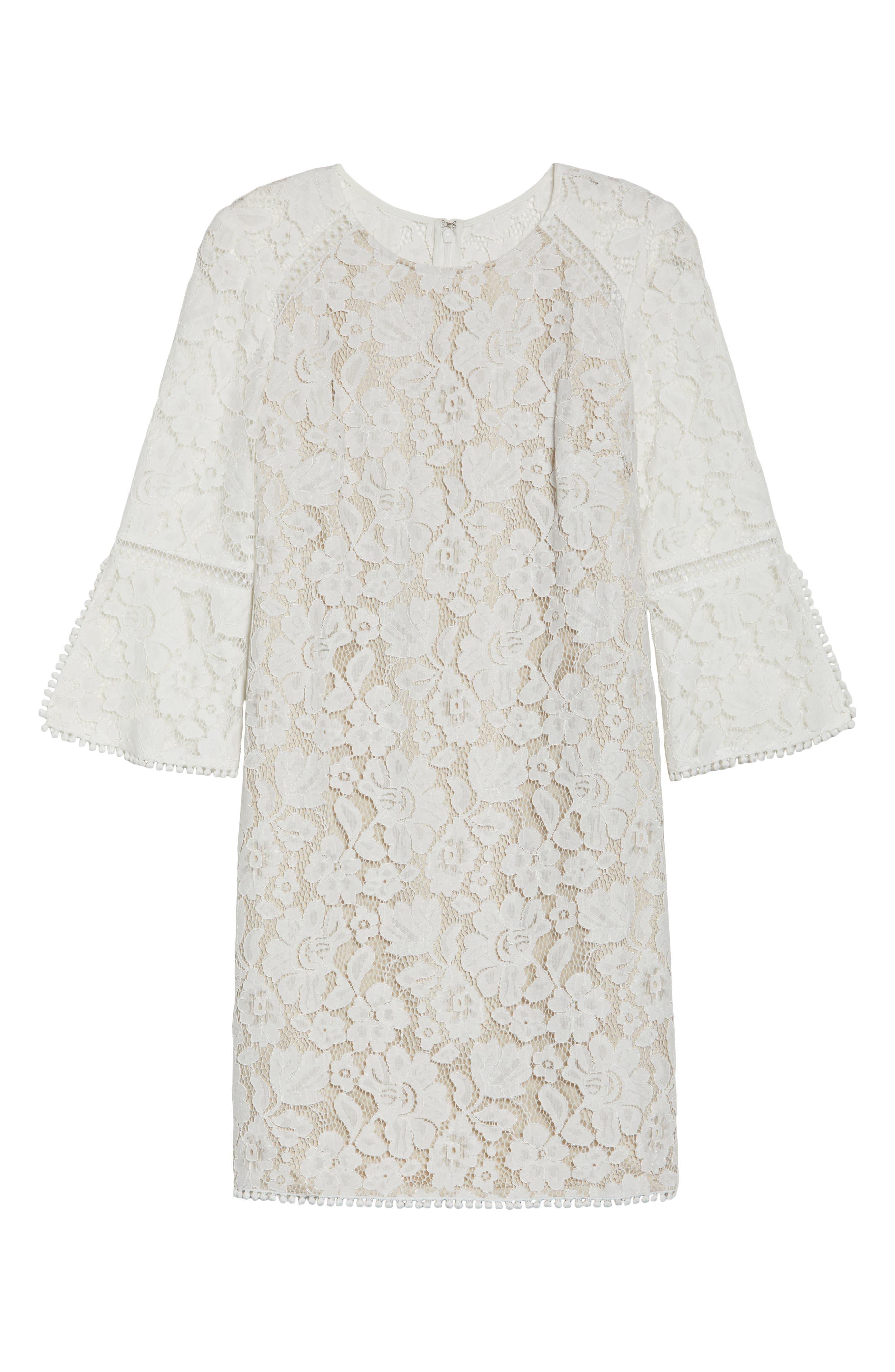 Alternate Image 6  - Vince Camuto Lace A-Line Dress