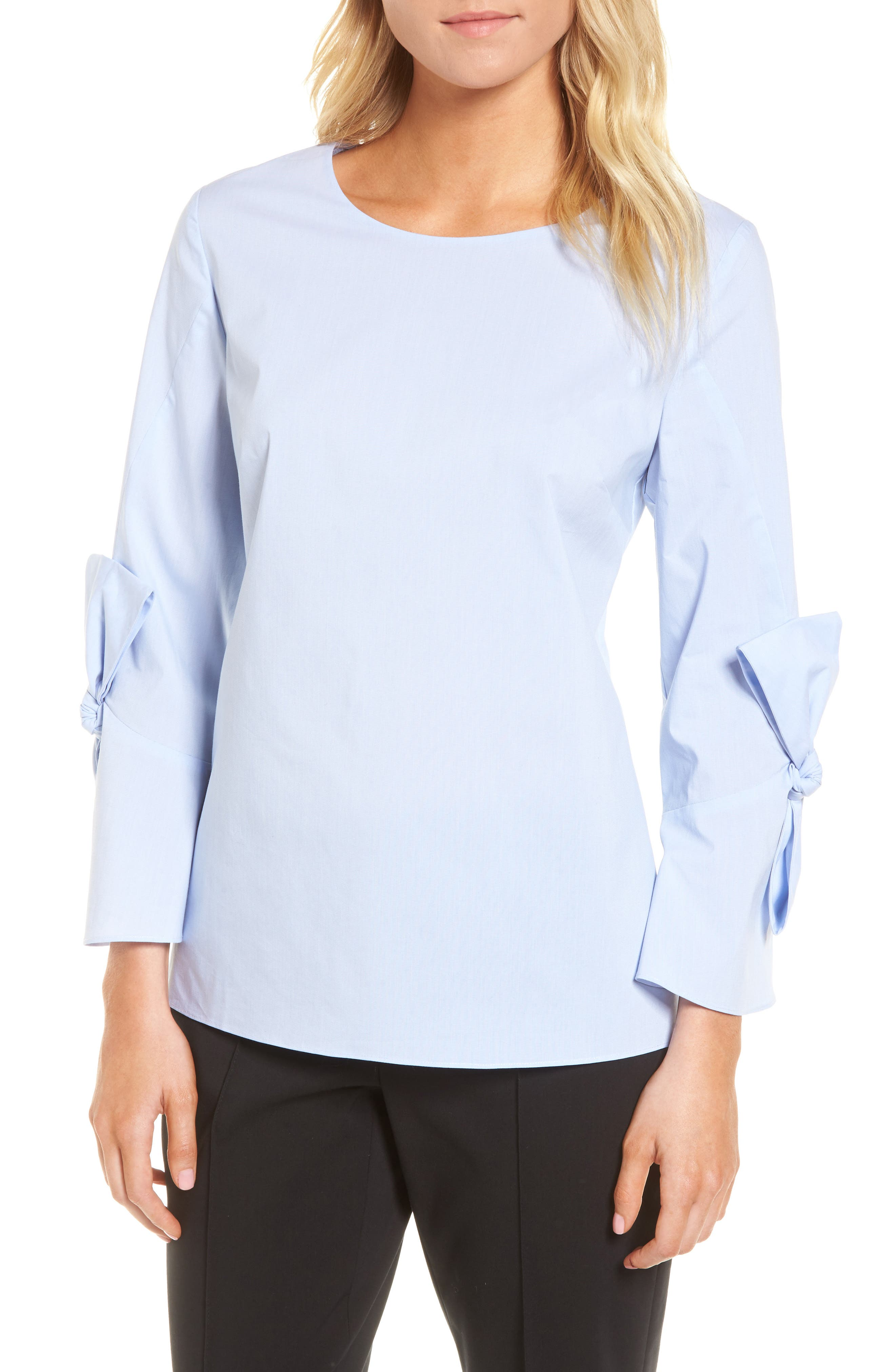 Emerson Rose Bow Sleeve Top