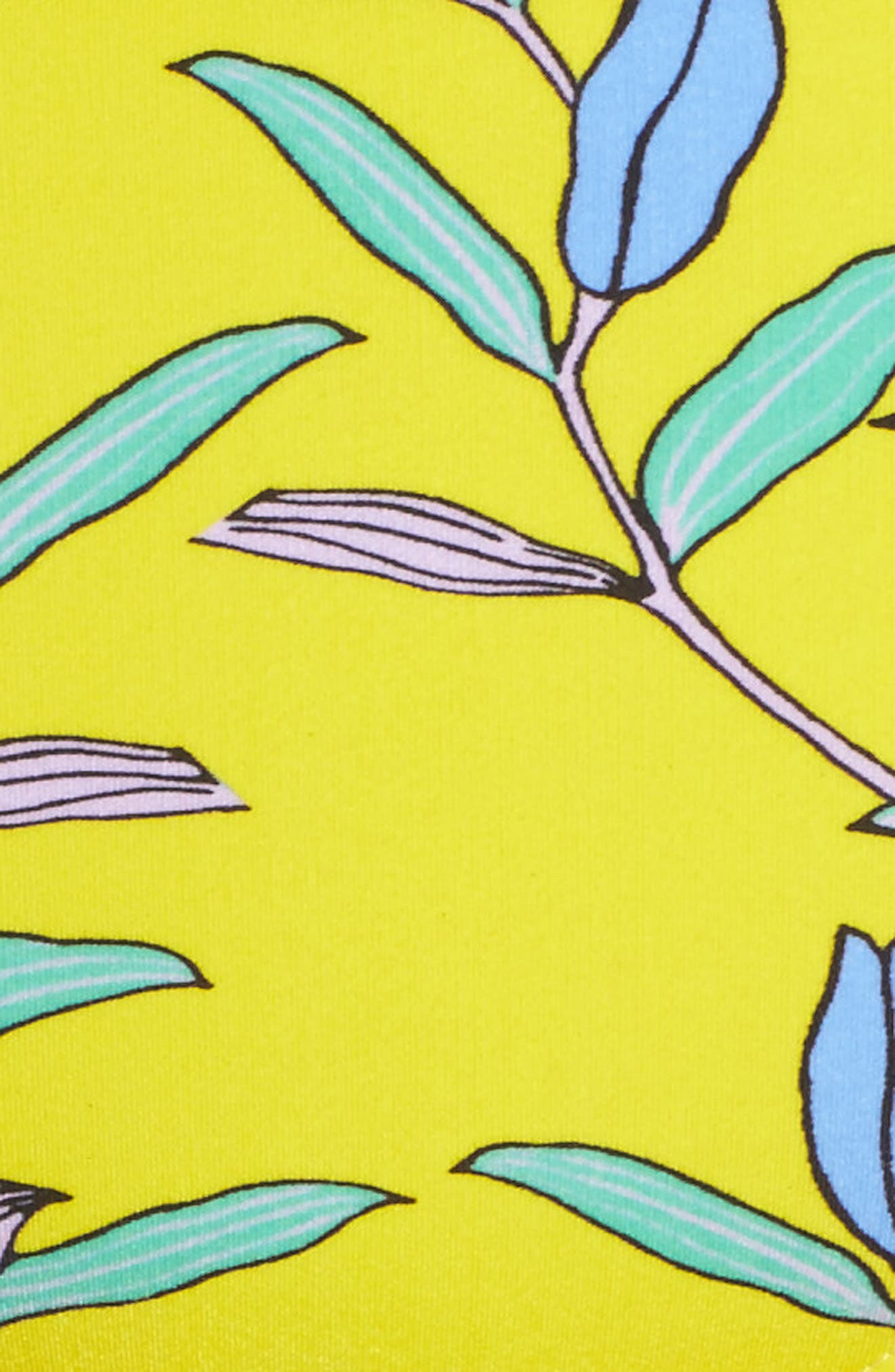 Mid Rise Cheeky Bikini Bottoms,                             Alternate thumbnail 8, color,                             Argos Small Allover Pineapple