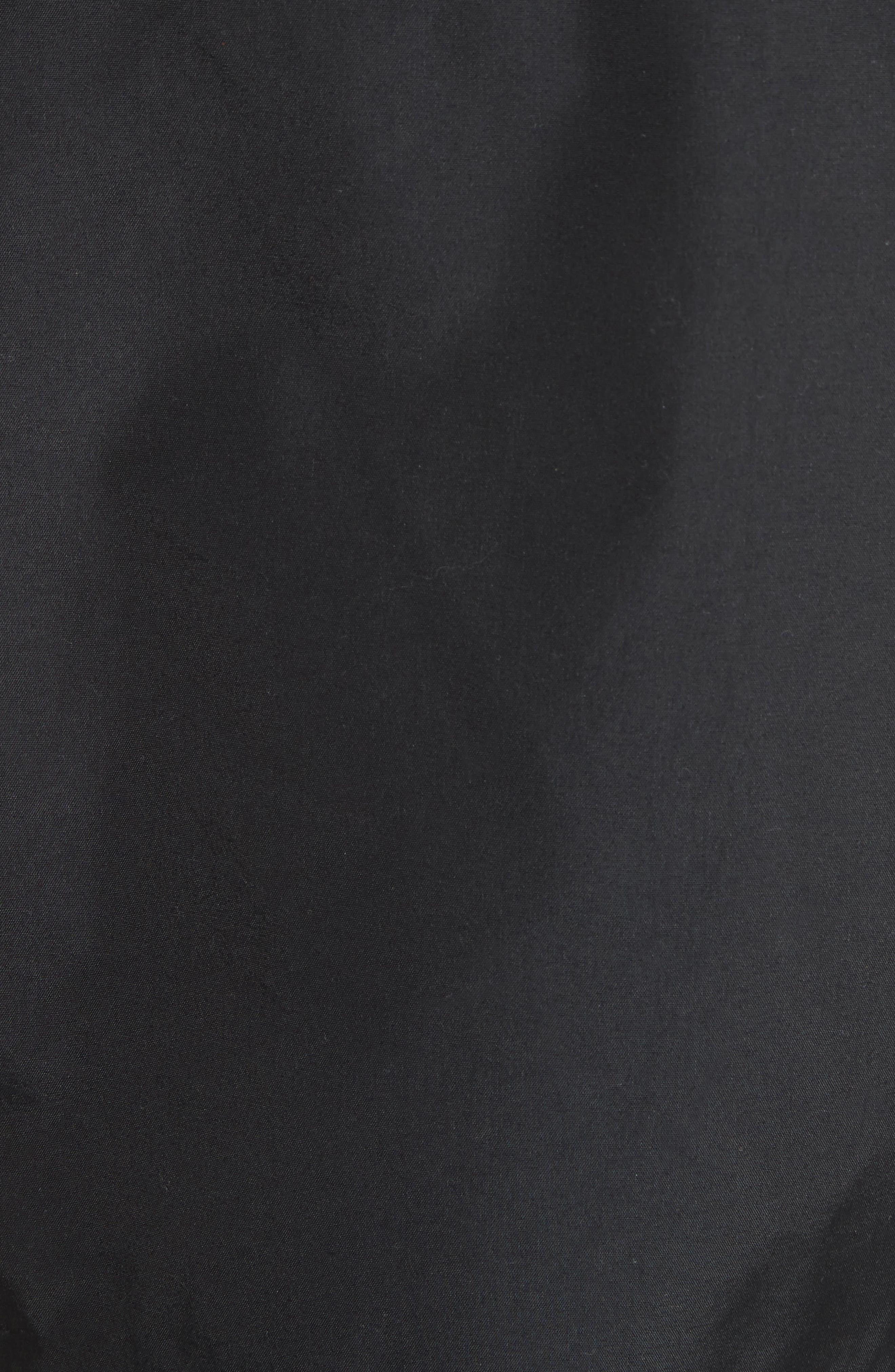 Kersbrook BXS Nylon Jacket,                             Alternate thumbnail 5, color,                             Black