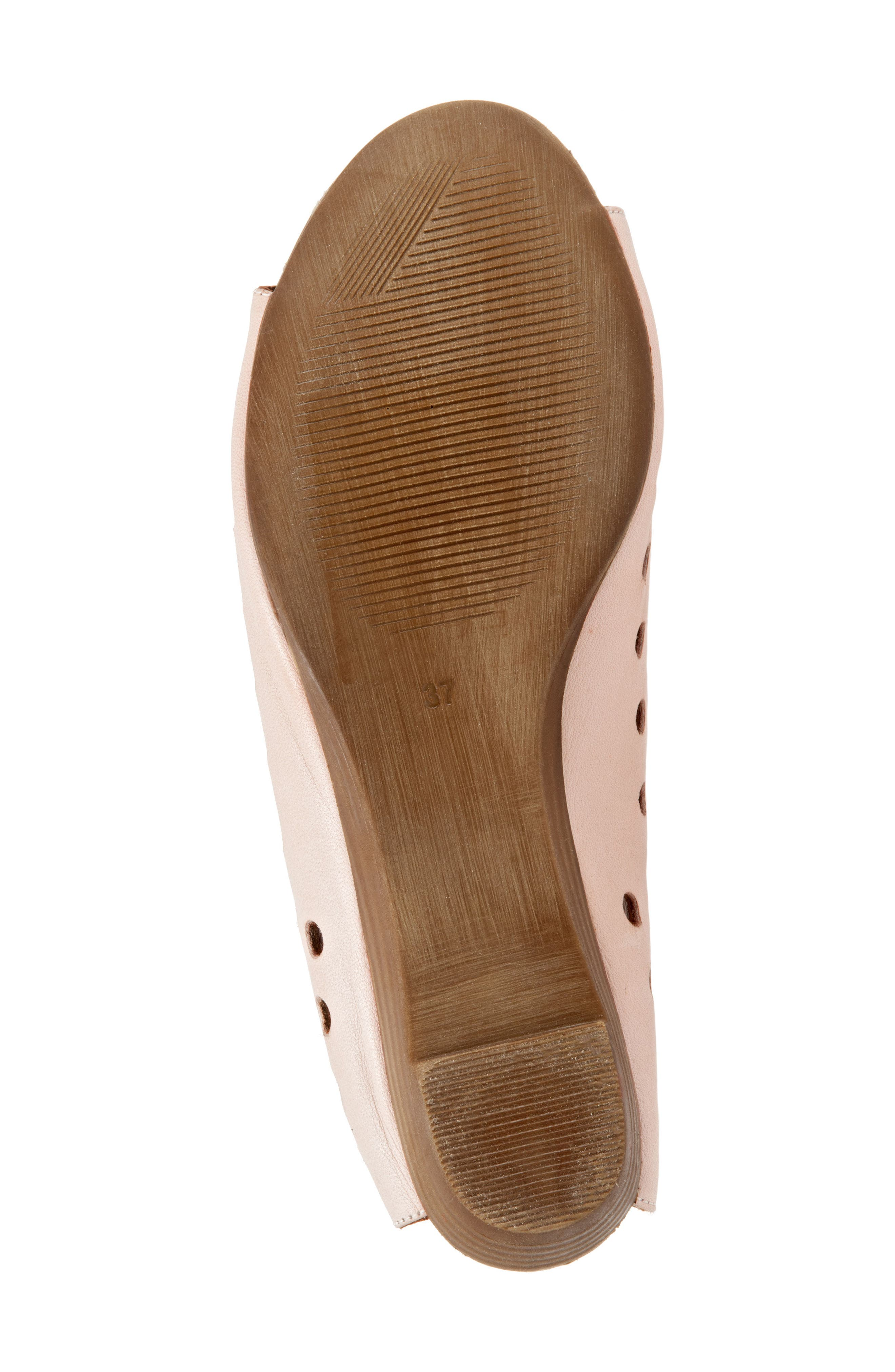 Addison Sandal,                             Alternate thumbnail 6, color,                             Pale Pink Leather