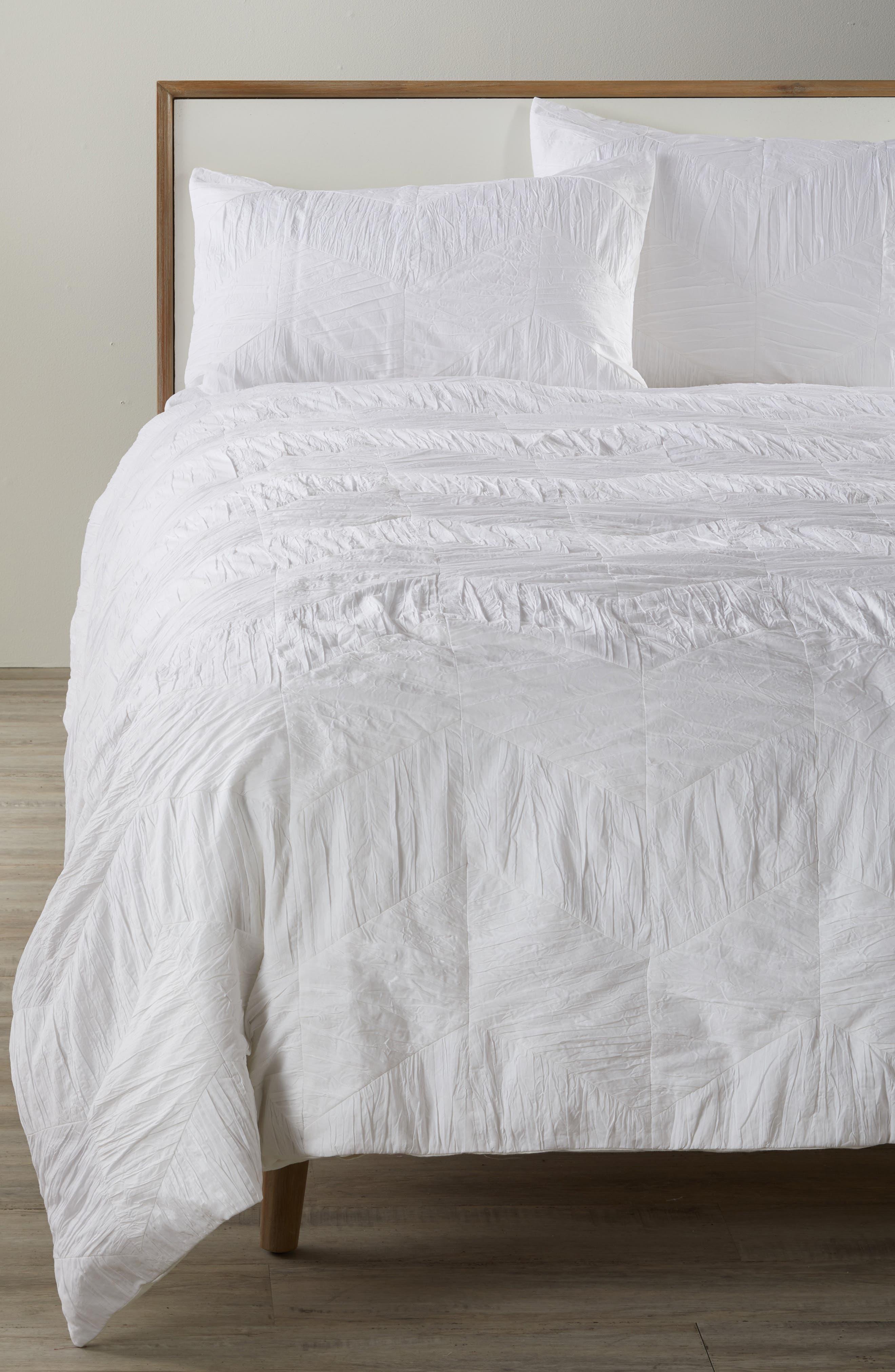 Selene Duvet Cover,                         Main,                         color, White