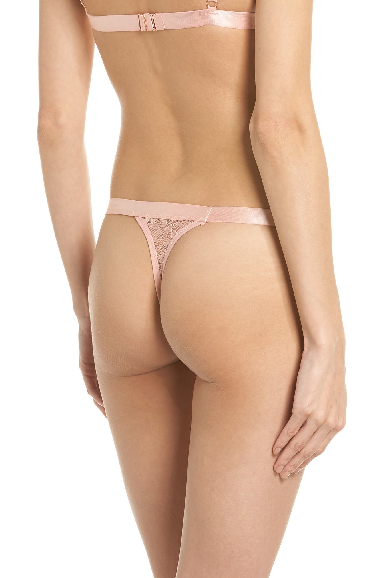 Grace G-String,                             Alternate thumbnail 2, color,                             Pink
