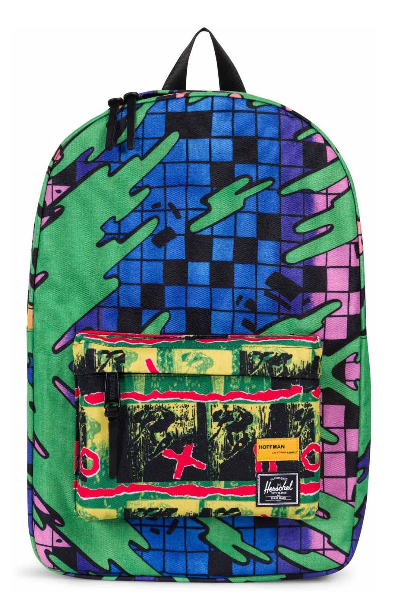 Hoffman Winlaw Backpack,                         Main,                         color, Green