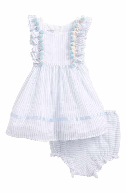 Nordstrom baby clothing shoes accessories nordstrom pippa julie embellished stripe fit flare dress baby negle Gallery
