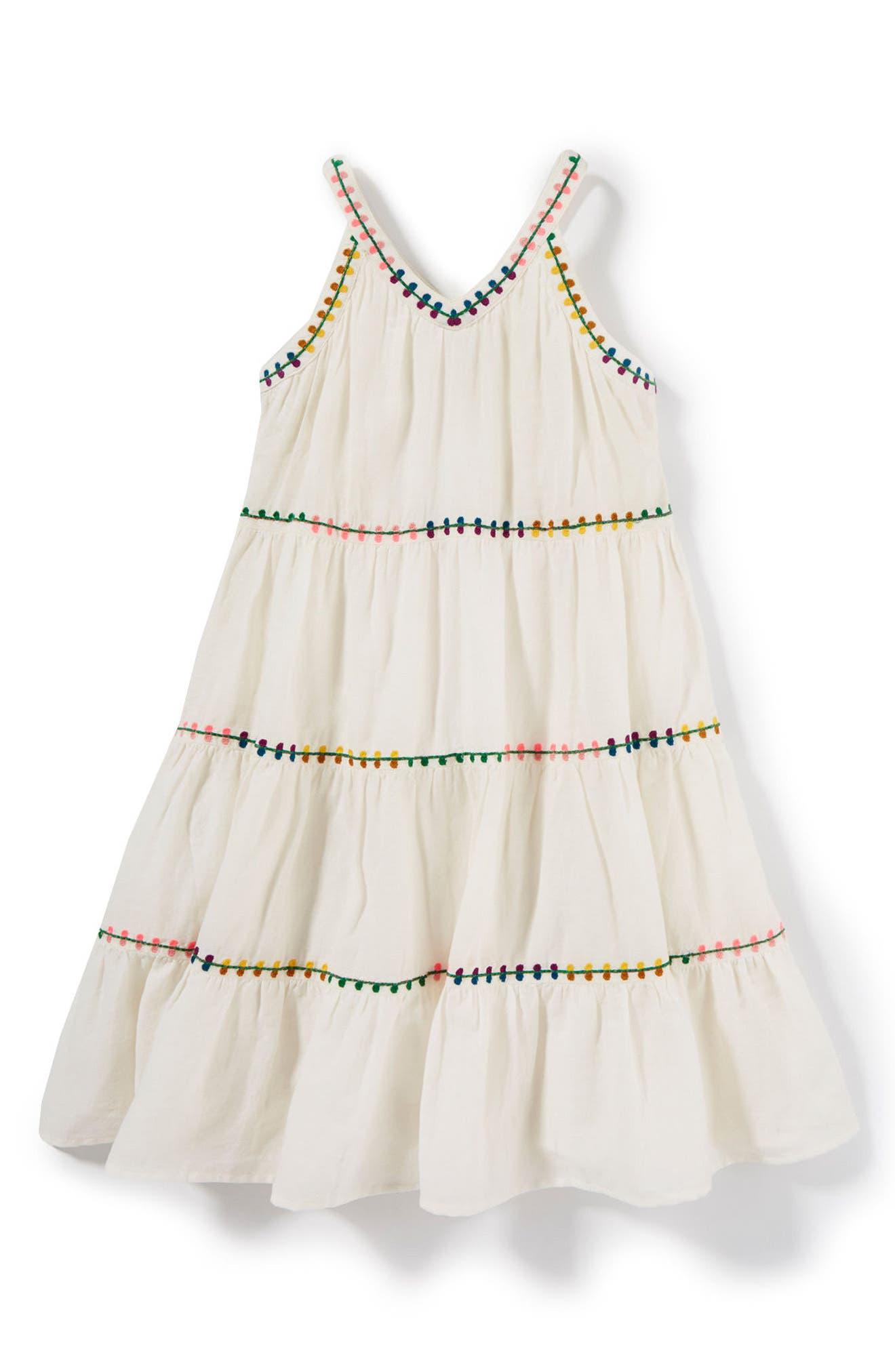 Sarafina Dress,                         Main,                         color, Ivory