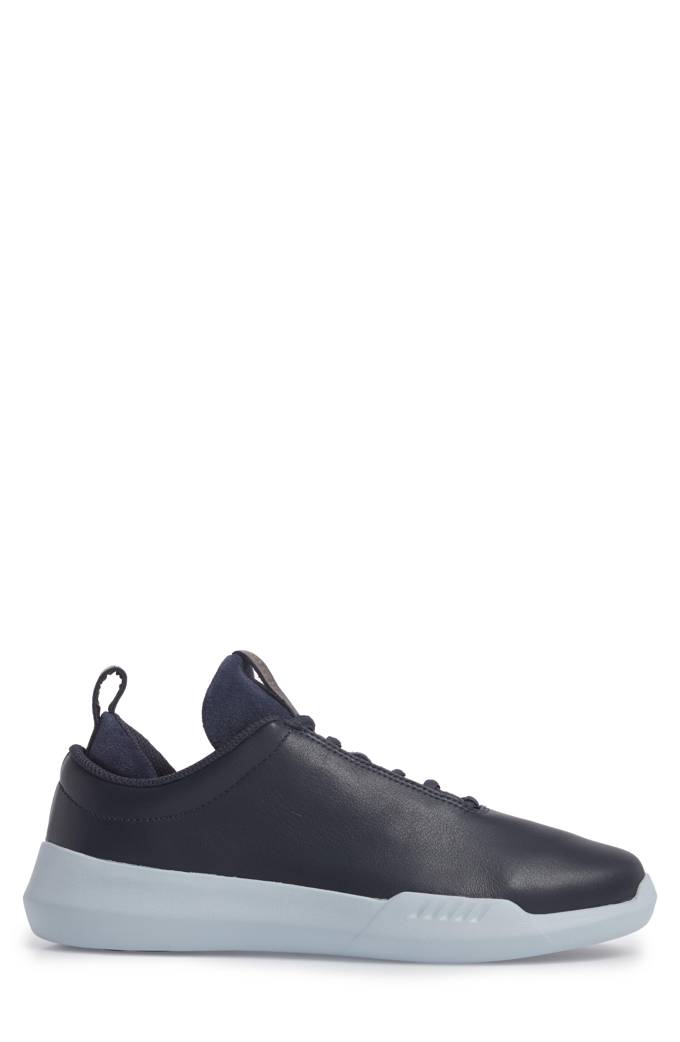 Gen-K Icon Sneaker,                             Alternate thumbnail 3, color,                             Navy/Celestial Blue
