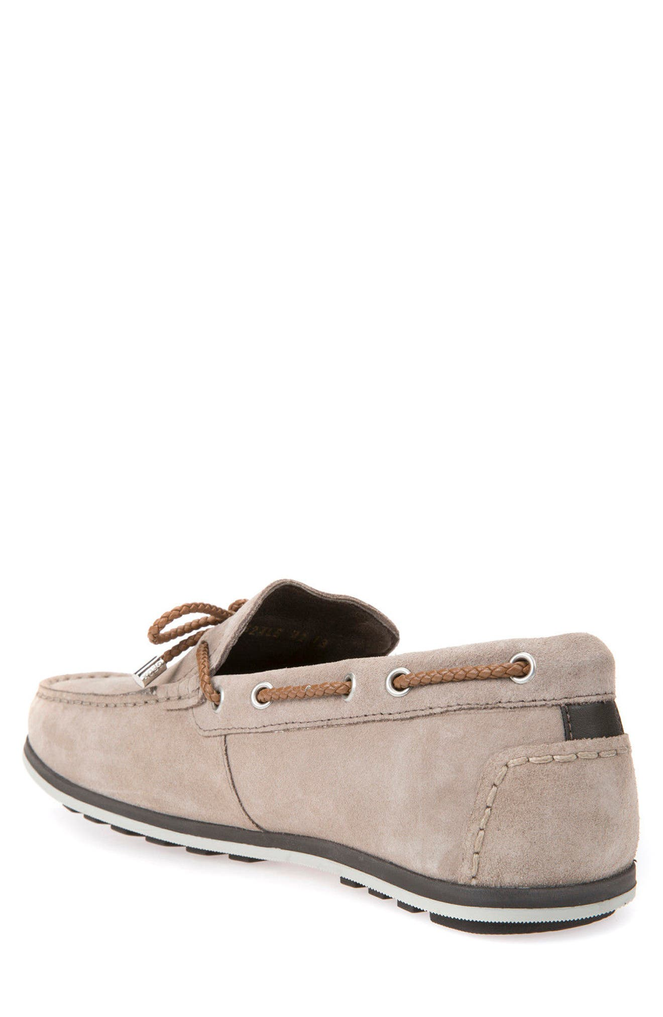 Mirvin 2 Boat Shoe,                             Alternate thumbnail 2, color,                             Taupe Suede