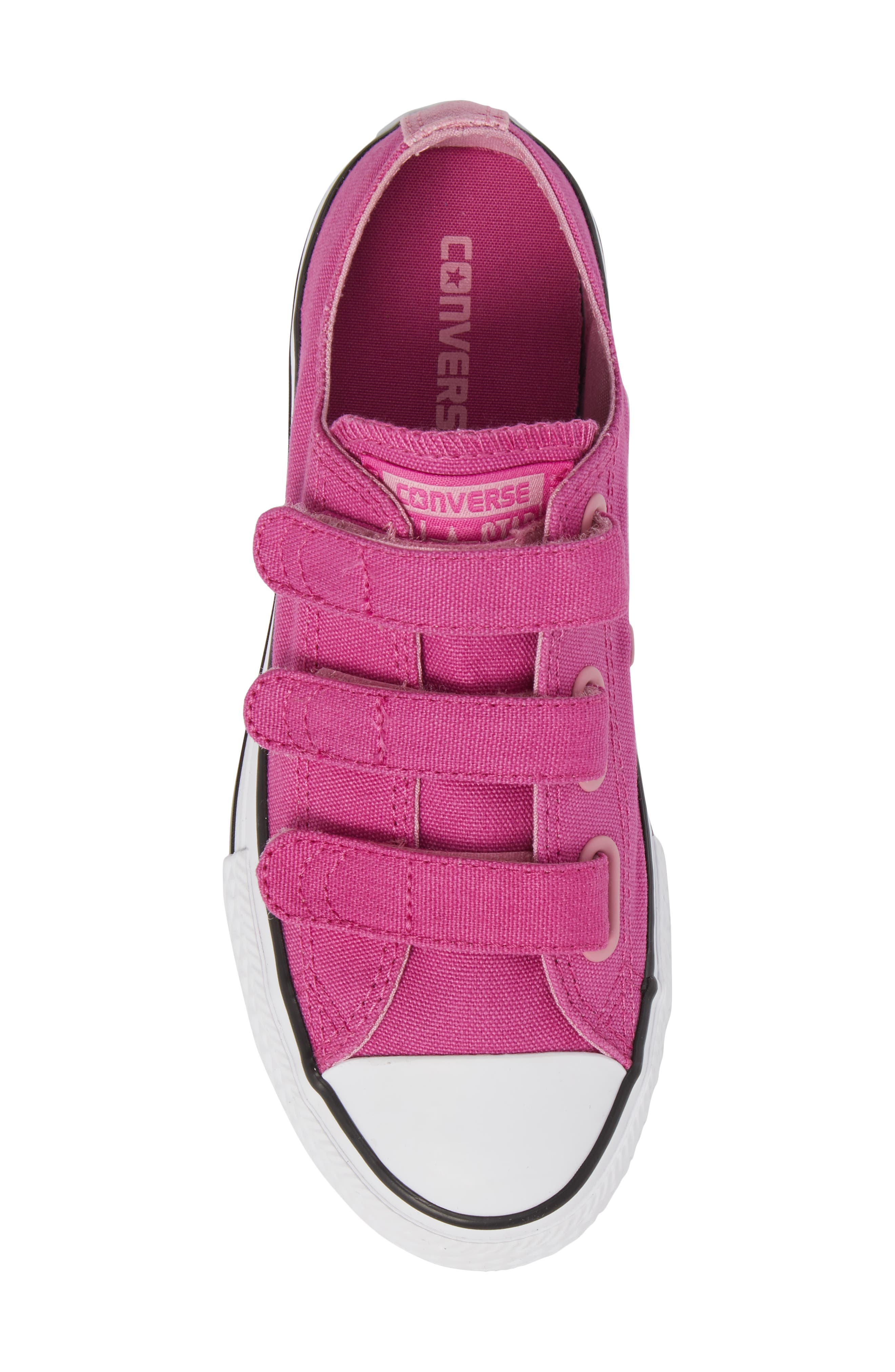 Chuck Taylor<sup>®</sup> All Star<sup>®</sup> 3V Low Top Sneaker,                             Alternate thumbnail 5, color,                             Hyper Magenta
