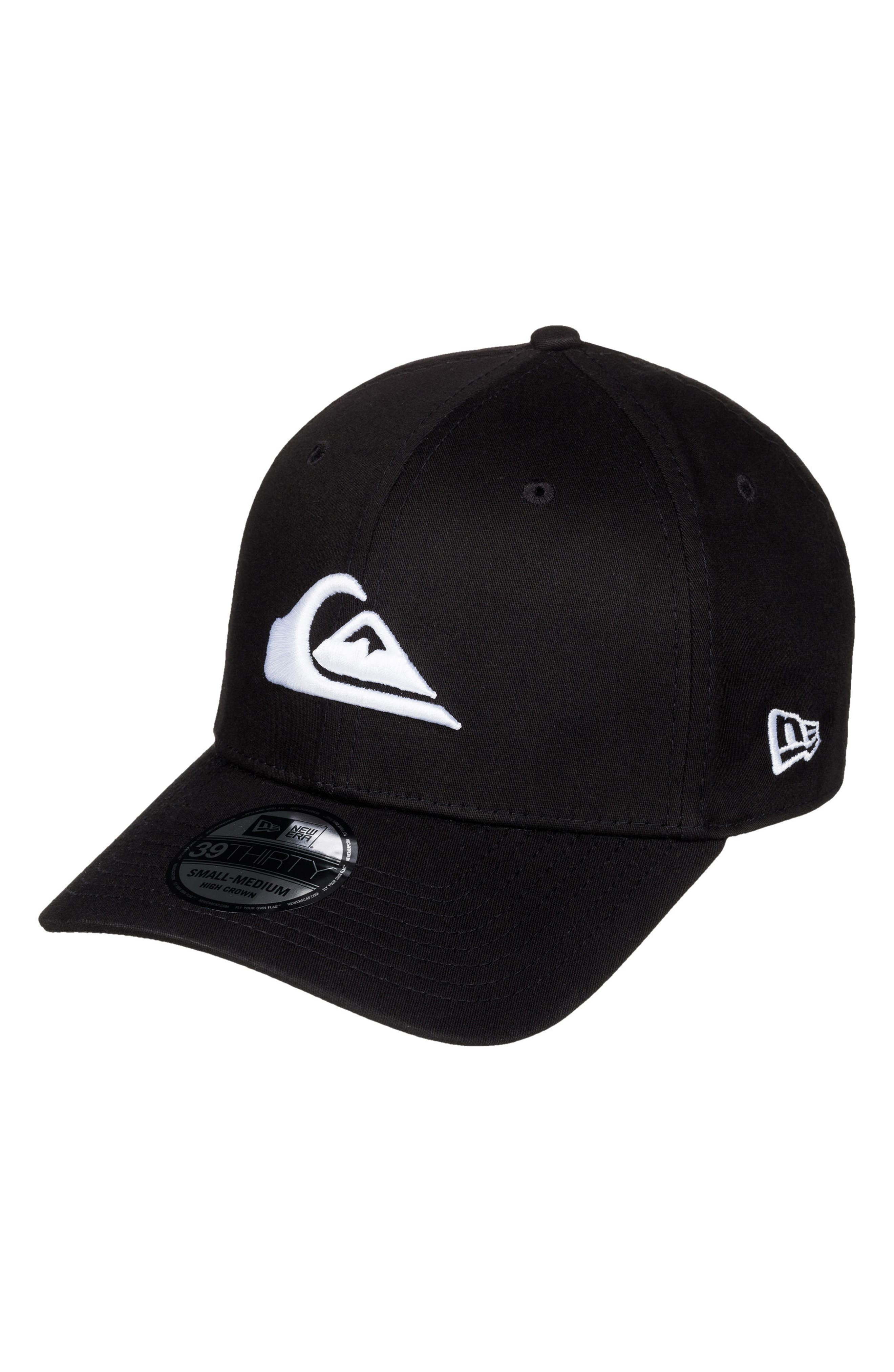 Mountain & Wave Baseball Cap,                             Main thumbnail 1, color,                             White