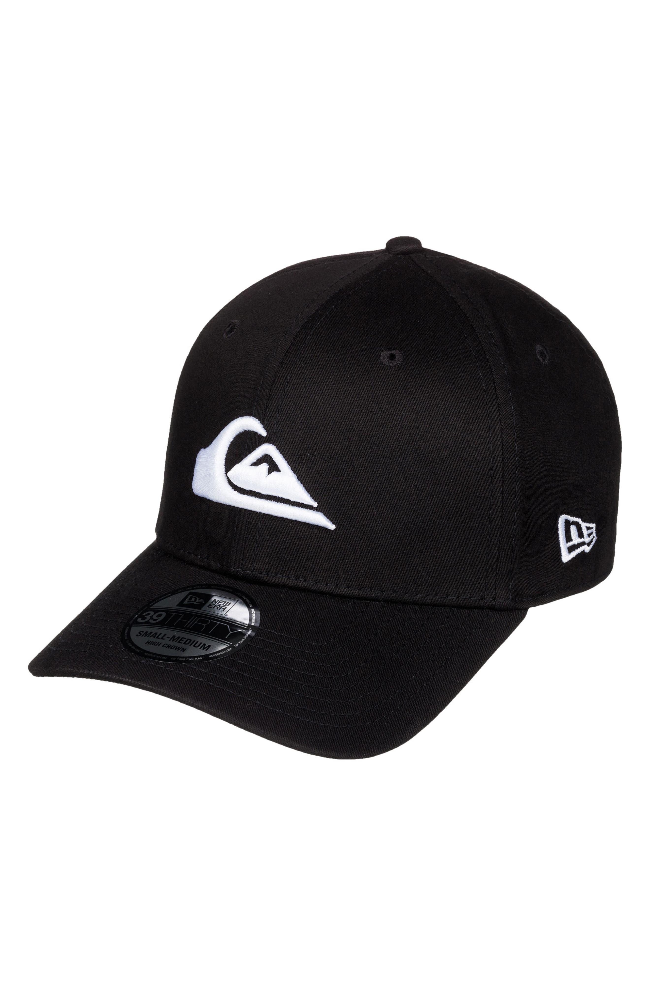 Mountain & Wave Baseball Cap,                         Main,                         color, White