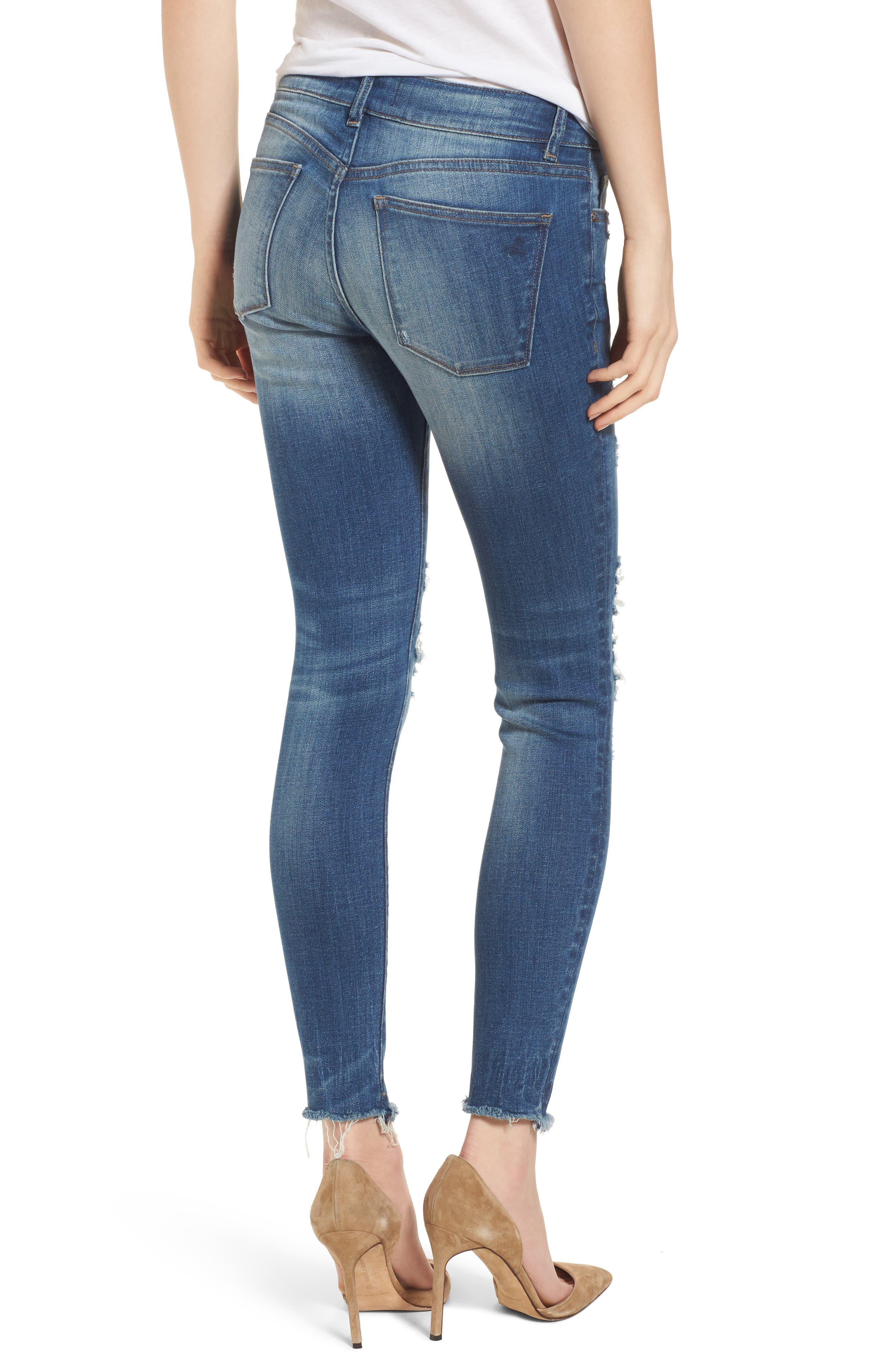Emma Power Legging Jeans,                             Alternate thumbnail 2, color,                             Westwood