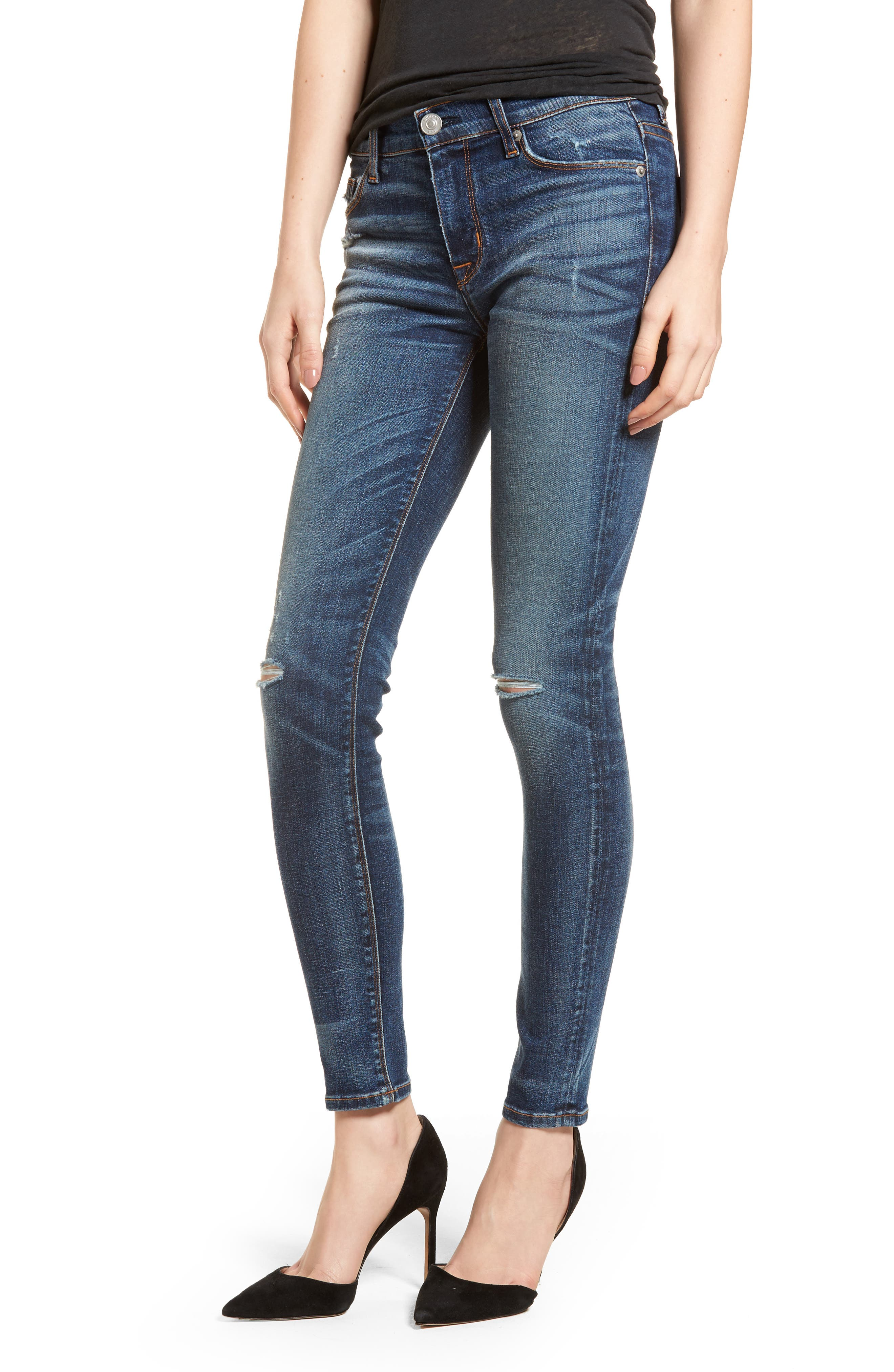 Nico Ankle Super Skinny Jeans,                             Main thumbnail 1, color,                             Confession