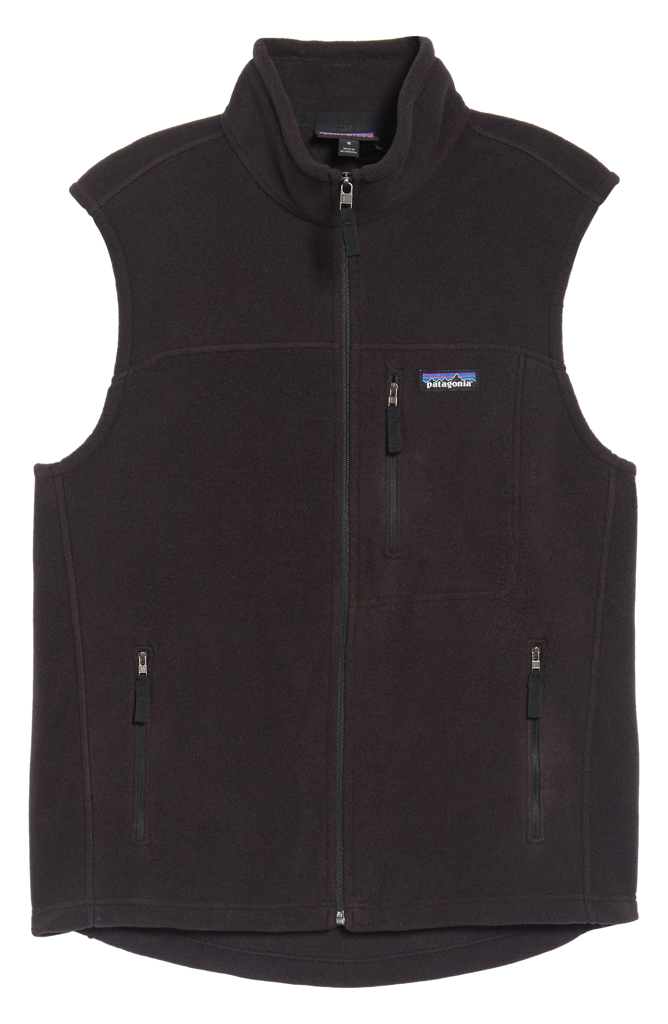 Classic Synchilla<sup>®</sup> Fleece Vest,                             Alternate thumbnail 6, color,                             Black