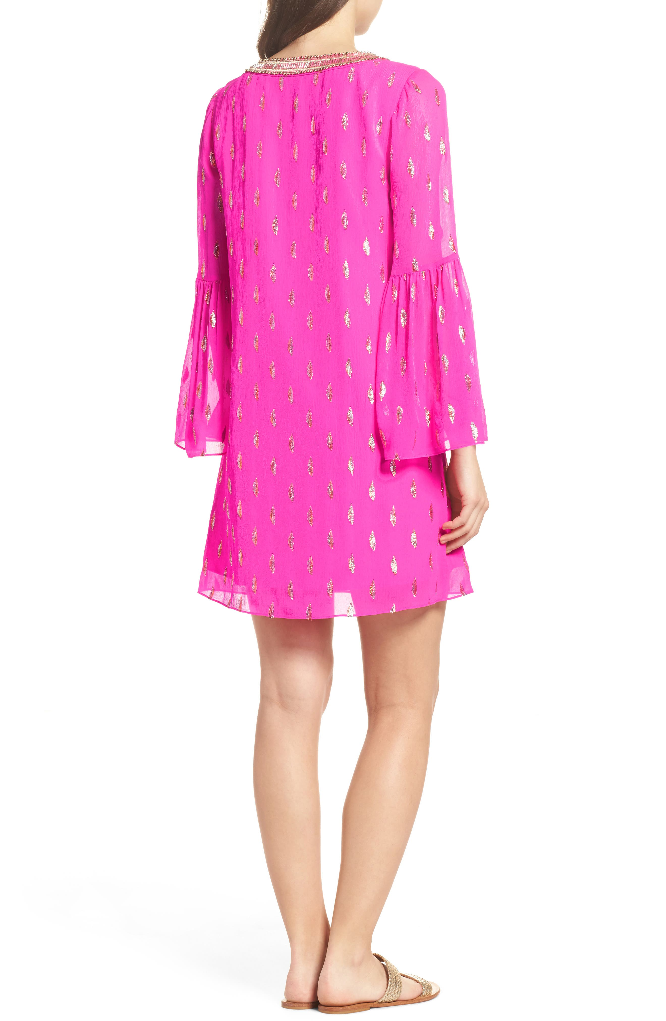 Alternate Image 2  - Lilly Pulitzer® Amory Silk Tunic Dress