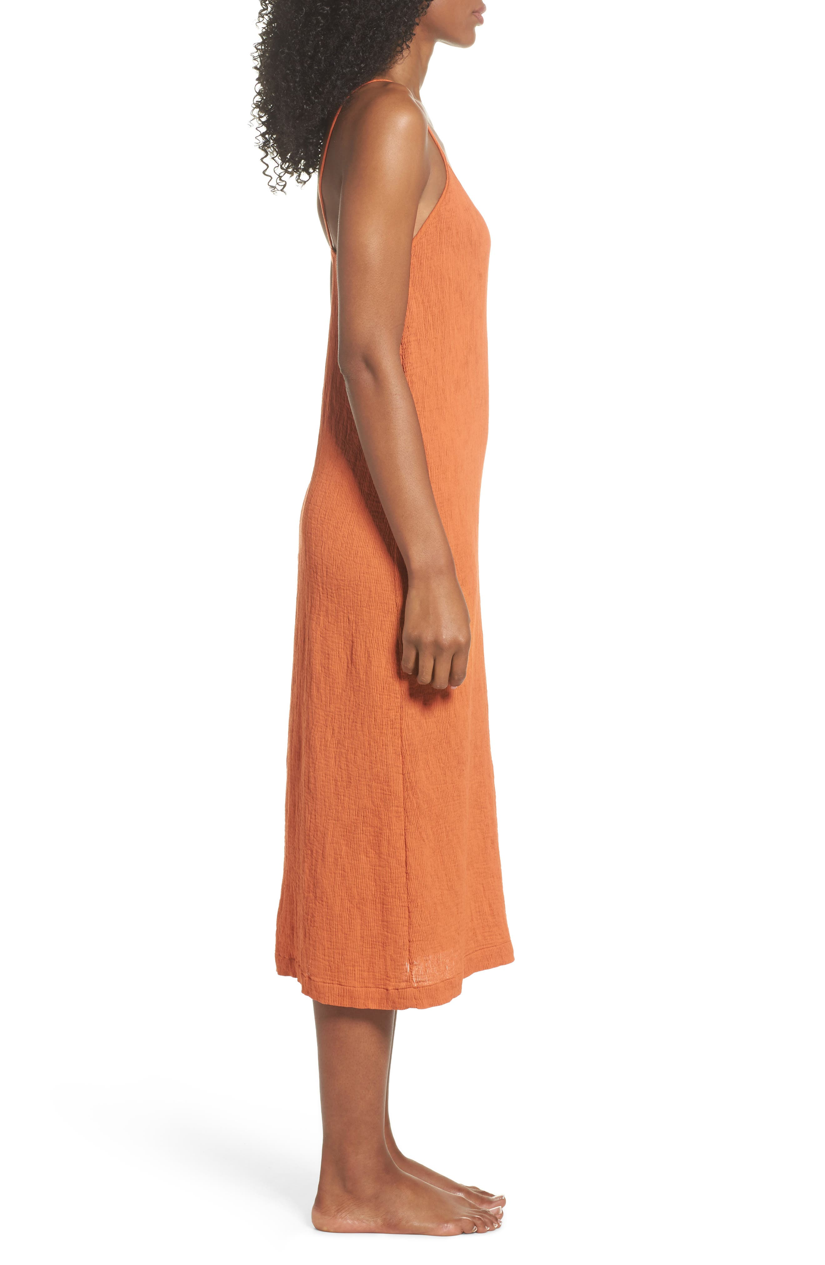 Spice Nightgown,                             Alternate thumbnail 3, color,                             Cayenne