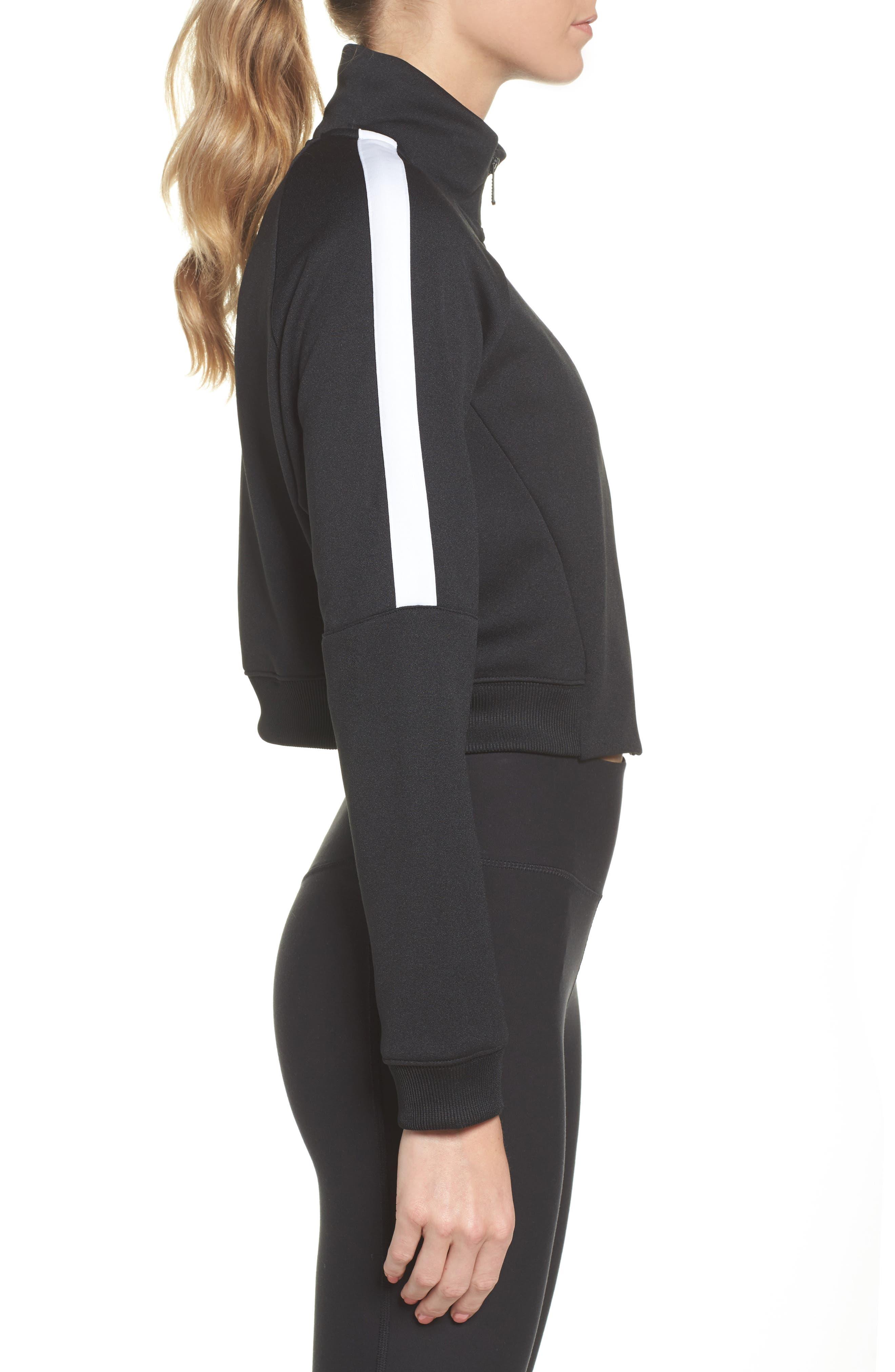 Sportswear N98 Jacket,                             Alternate thumbnail 3, color,                             Black/ White