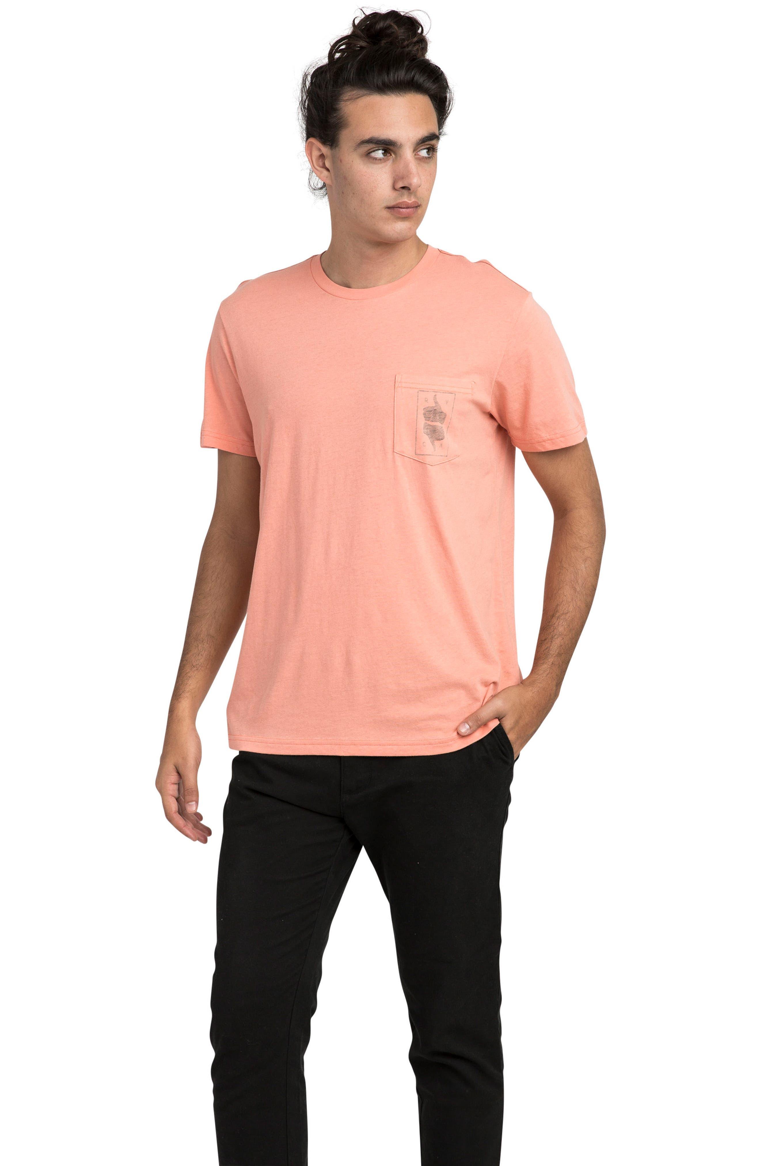 Alternate Image 3  - RVCA Thumbs Up T-Shirt